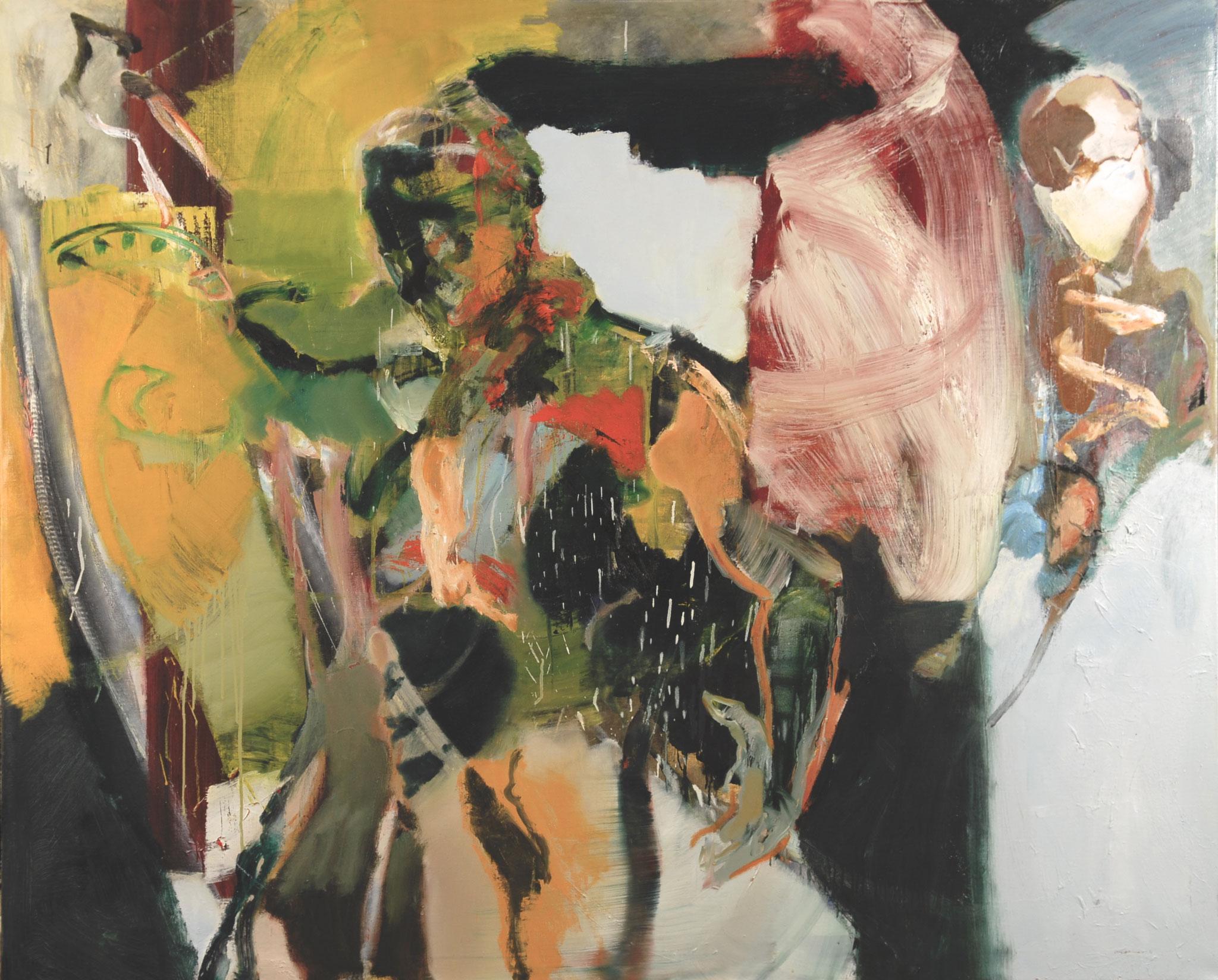 38  |  Ohne Titel  |  2016   Öl auf Leinwand   130 x 160 cm