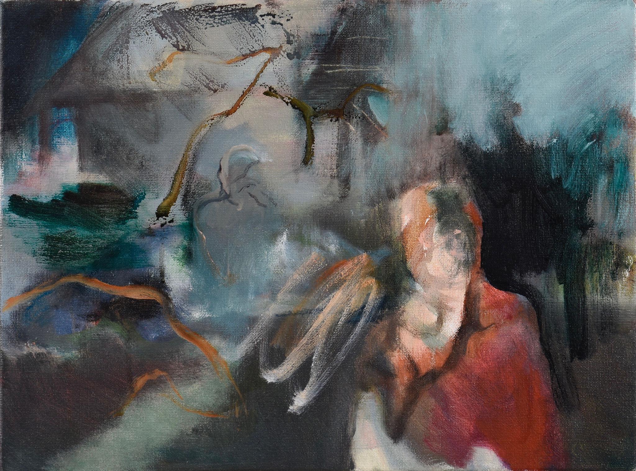 73  |  Ohne Titel  |  2020  |  Öl auf Leinwand  |  25 x30 cm