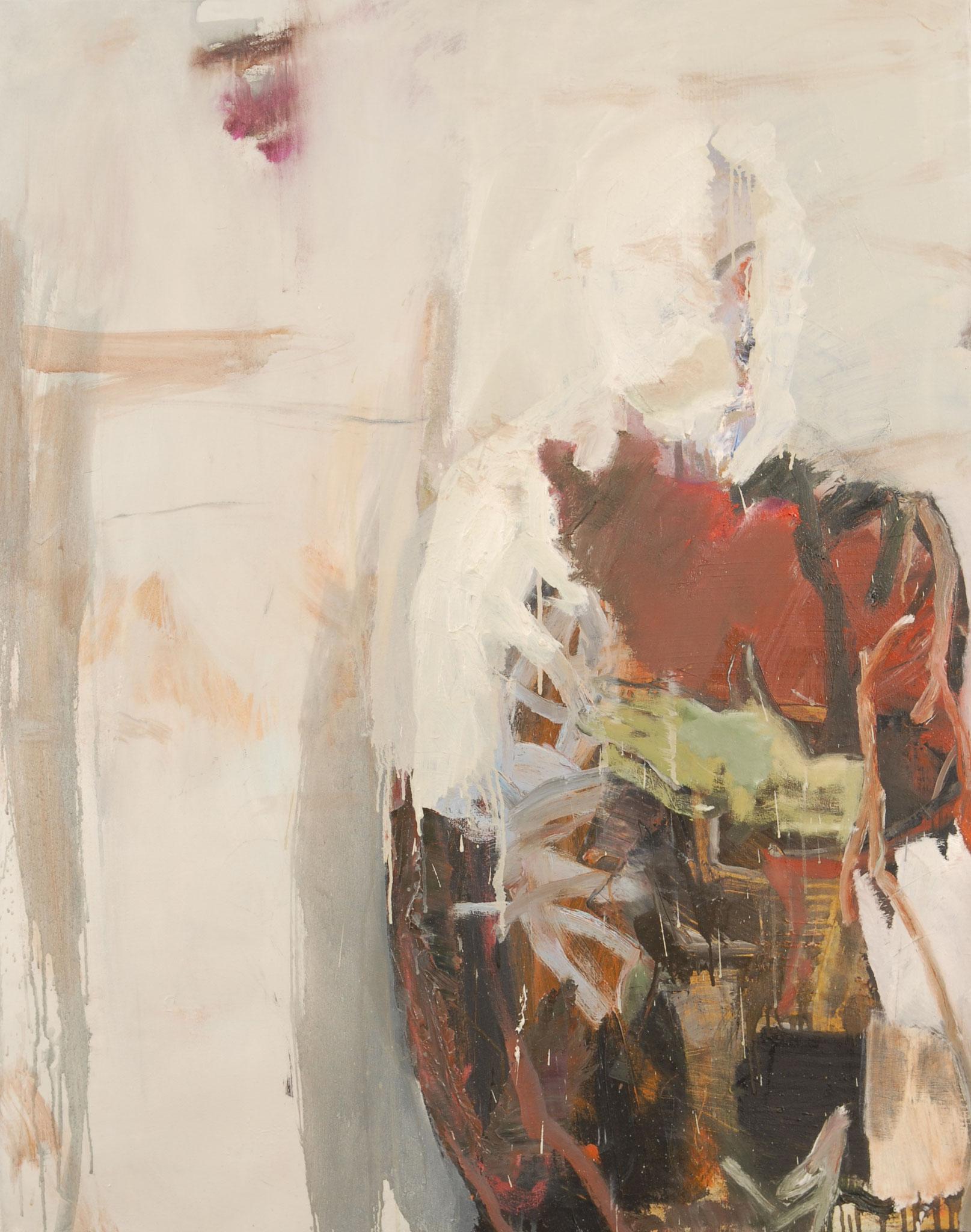 33  |  Ohne Titel  |  2016  |   Öl auf Leinwand  |   125 x 100 cm