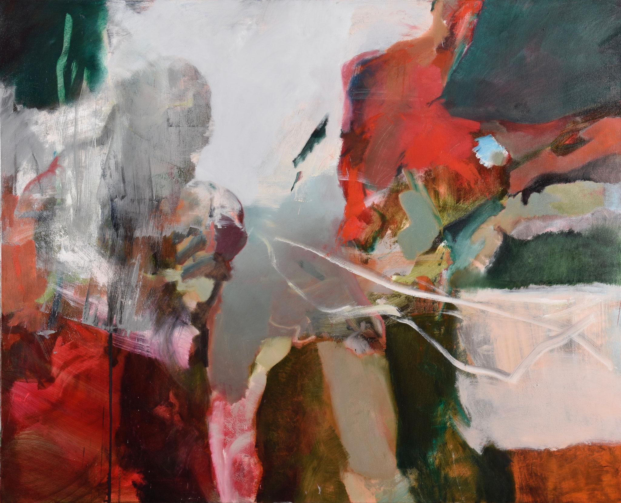 58  |  Ohne Titel  |  2018  |  Öl auf Leinwand  |  120 x 140 cm