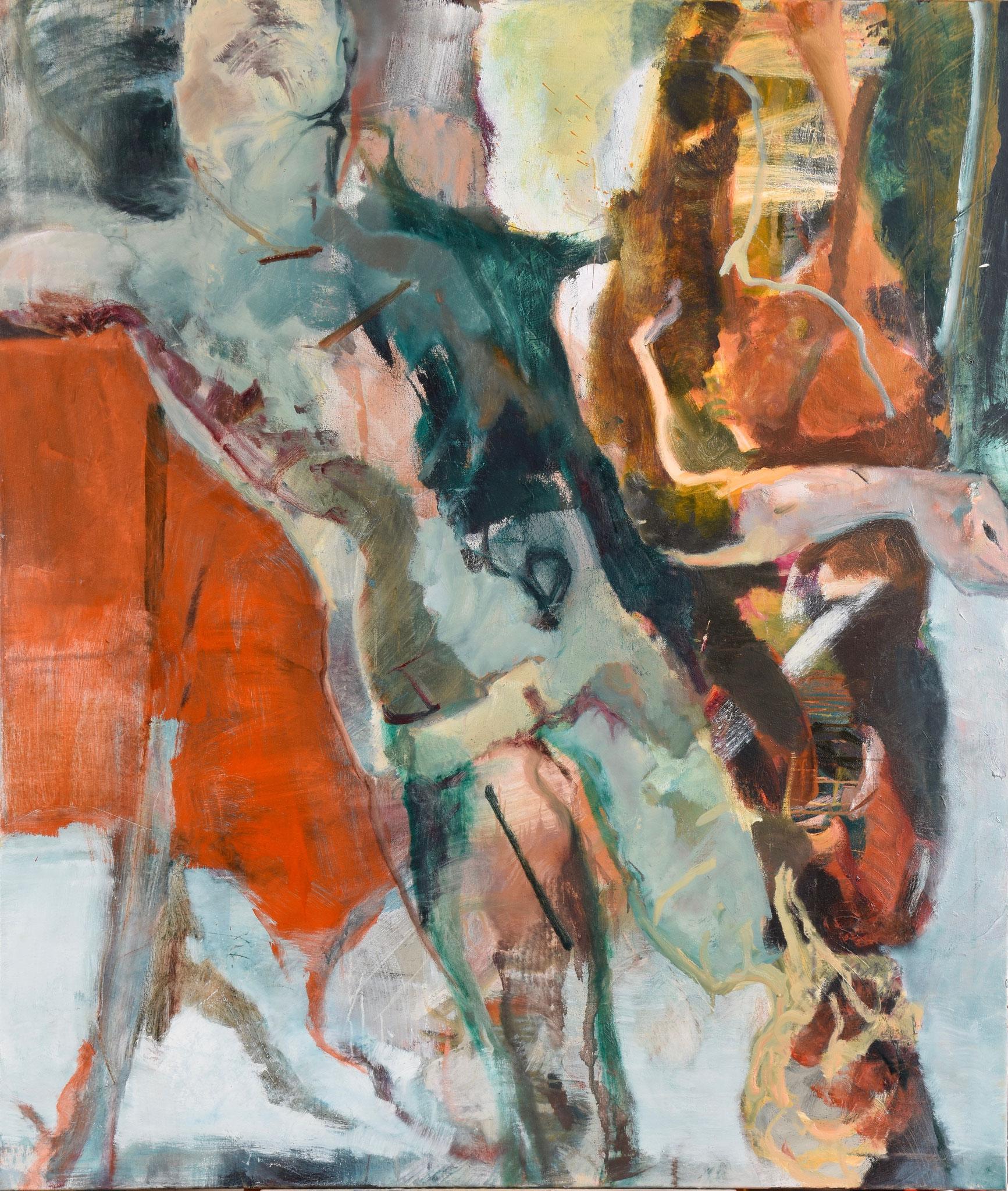 63  |  Ohne Titel  |  2018  |  Öl auf Leinwand  |  140 x 120 cm