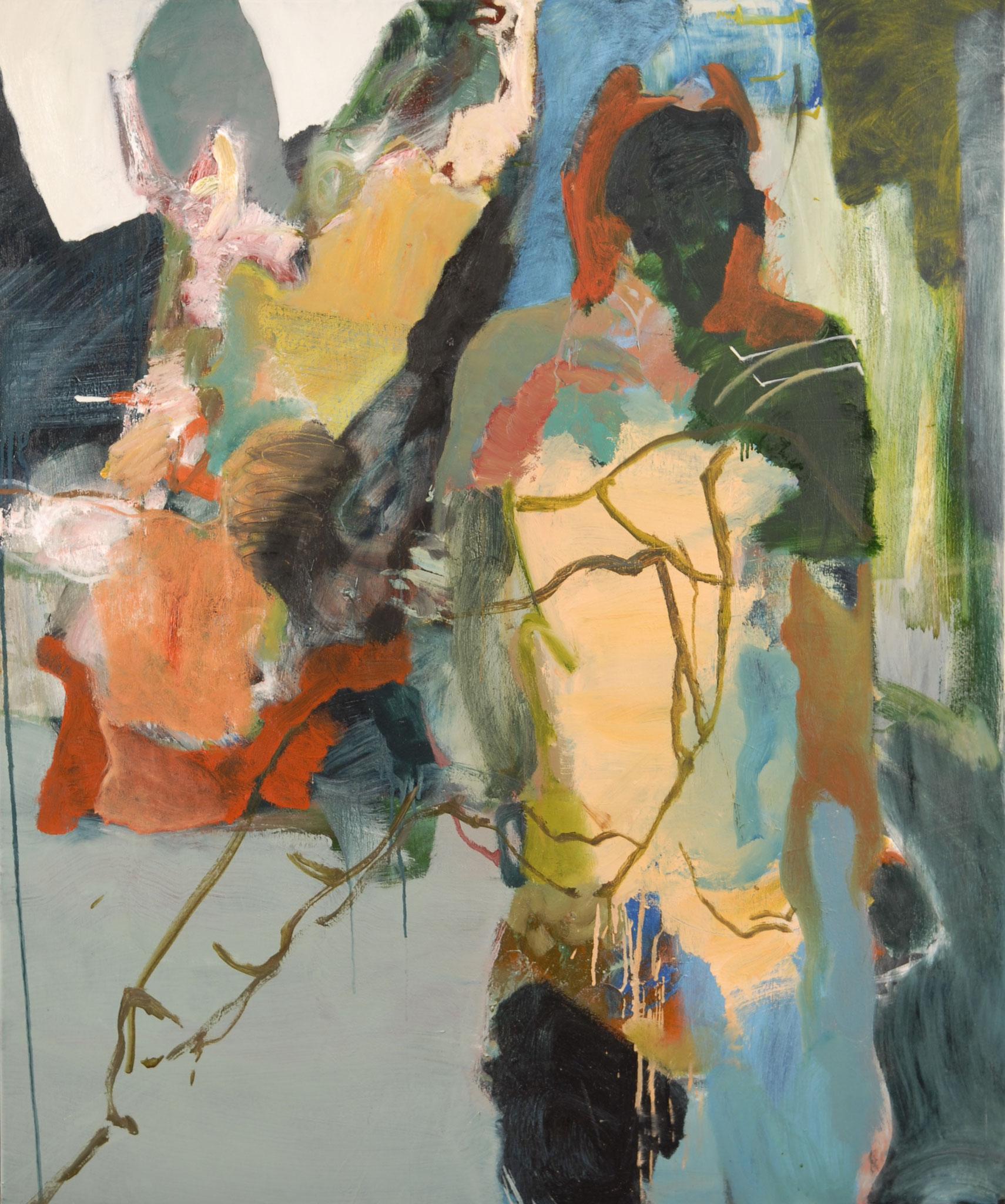42  |  Ohne Titel  |  2016  |  Öl auf Leinwand  |   120 x 100 cm