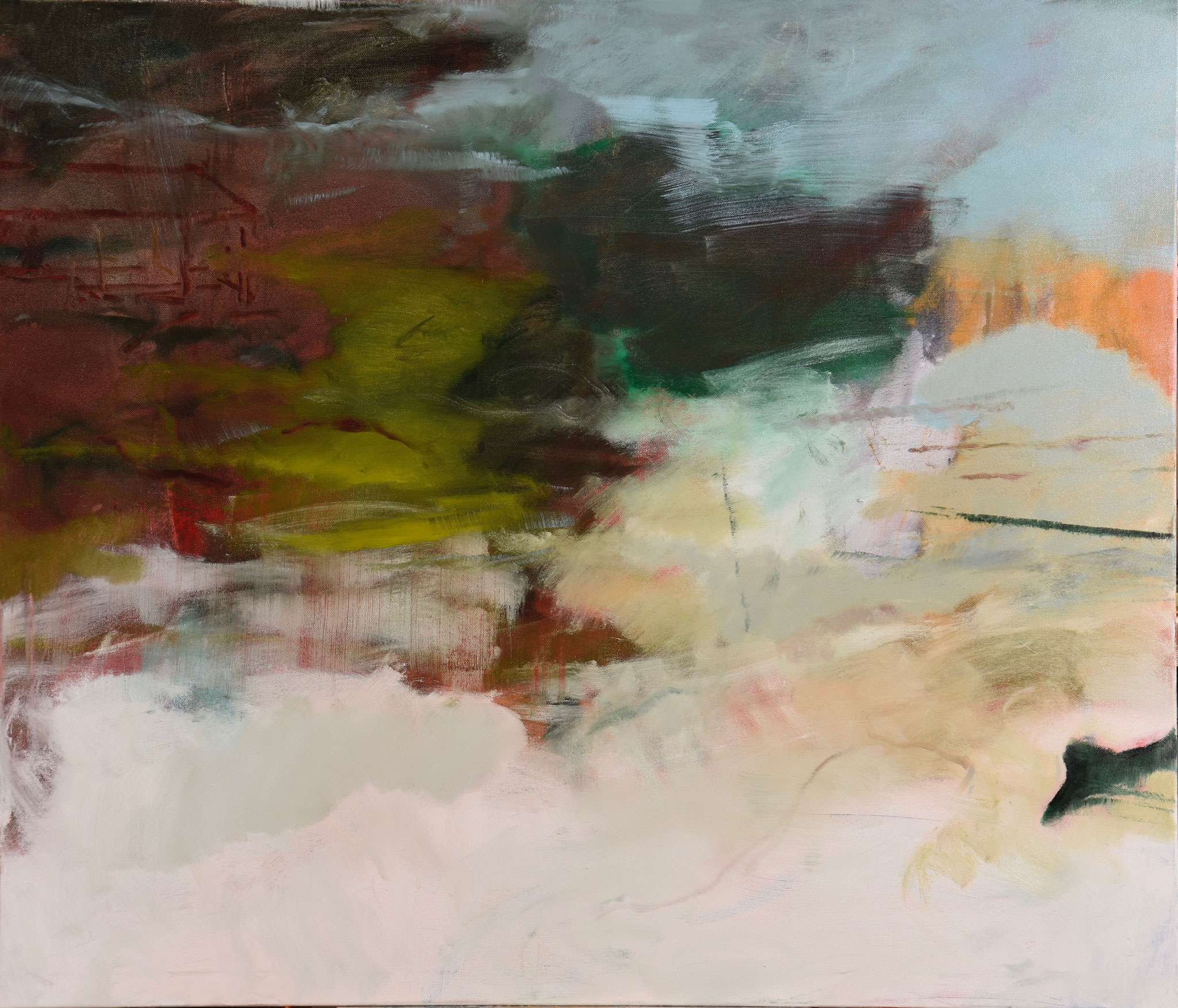 56  |  Landschaft  |  2018  |  Öl auf Leinwand  |  120 x140 cm