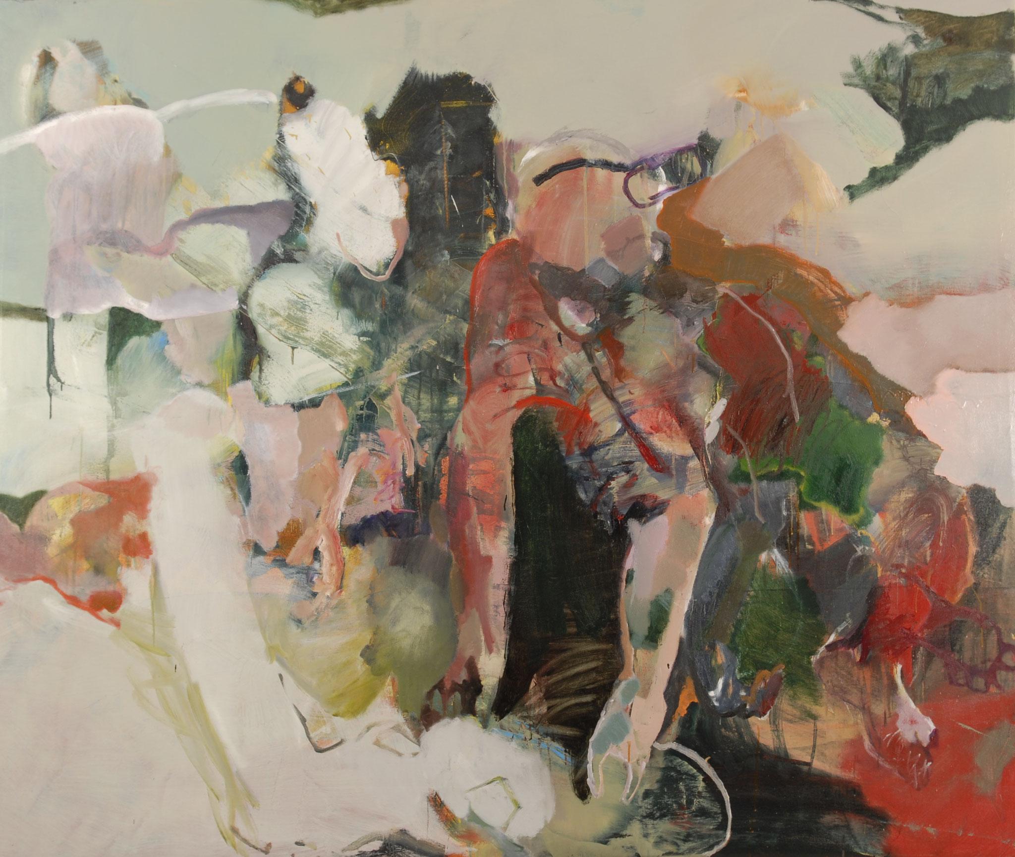 41  |  Ohne Titel   |  2016  |  Öl auf Leinwand  |  130 x 160 cm