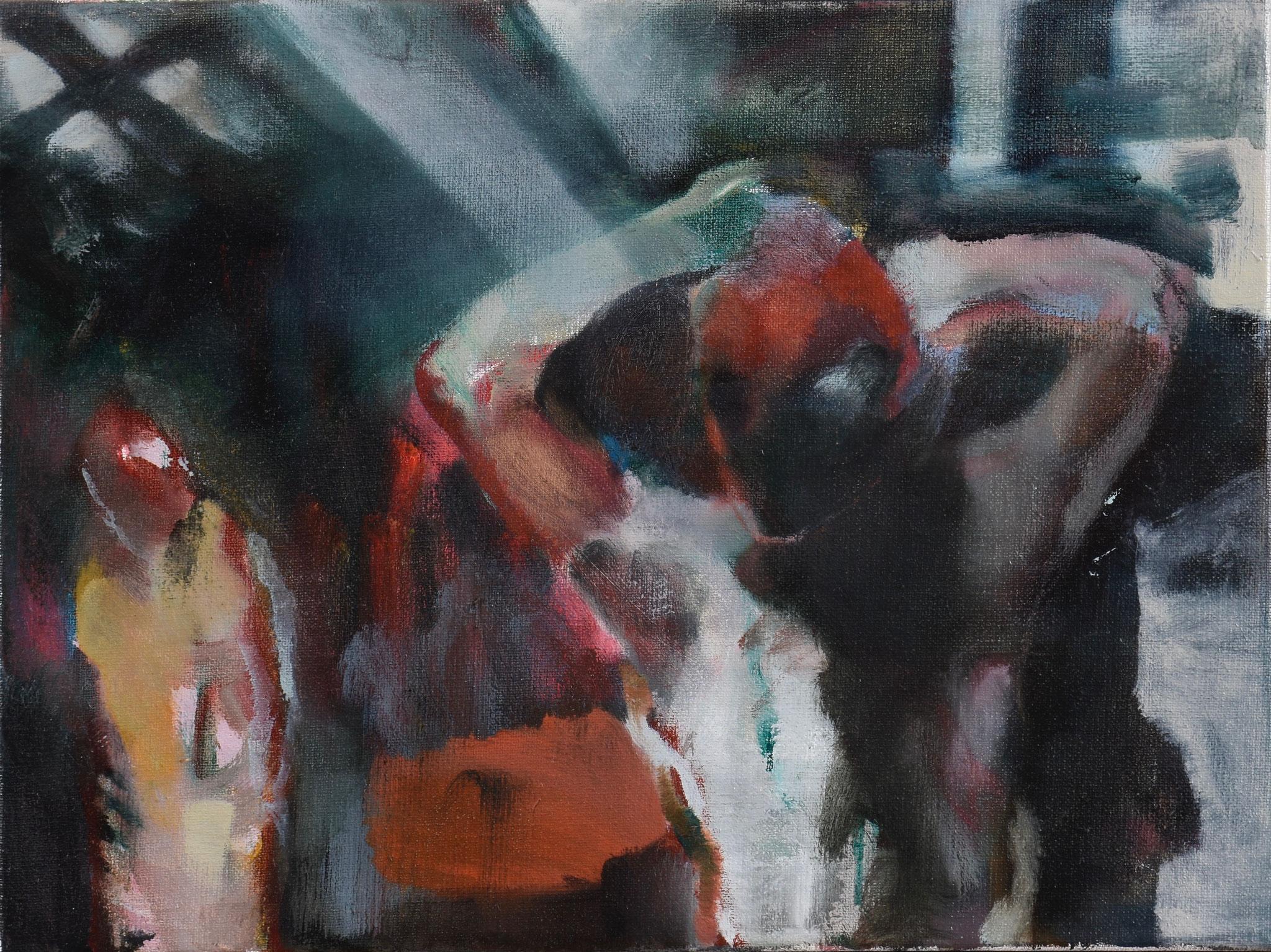 72  |  Ohne Titel  |  2020  |  Öl auf Leinwand  |  30 x 40 cm