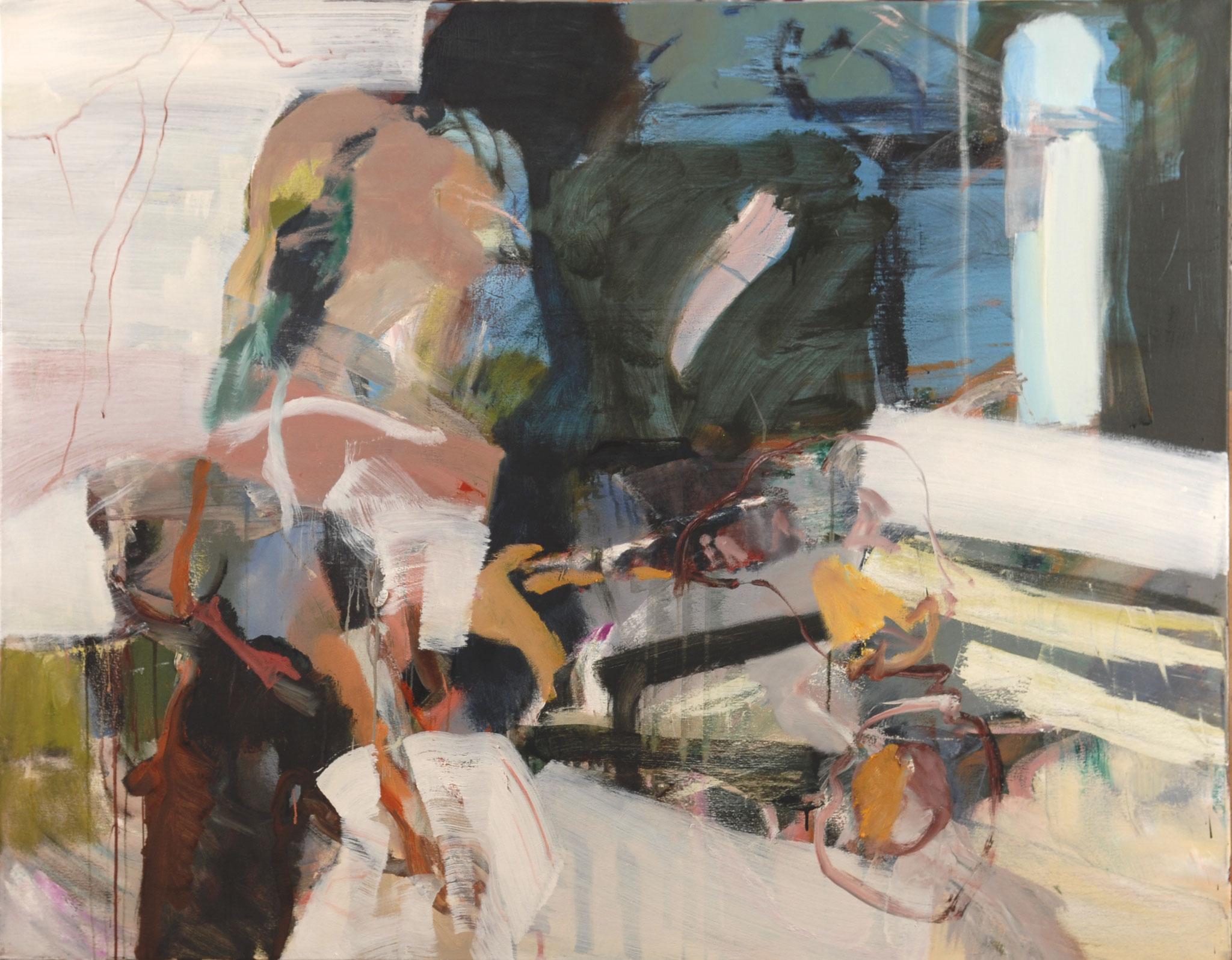 43  |  Ohne Titel  |  2016  |  Öl auf Leinwand  |  110 x 140 cm