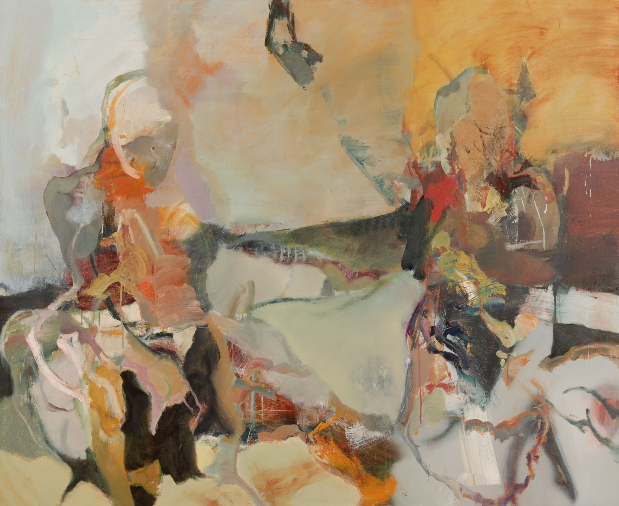 32  |  Ohne Titel   |  2016  |  Öl auf Leinwand  |  130 x 160 cm
