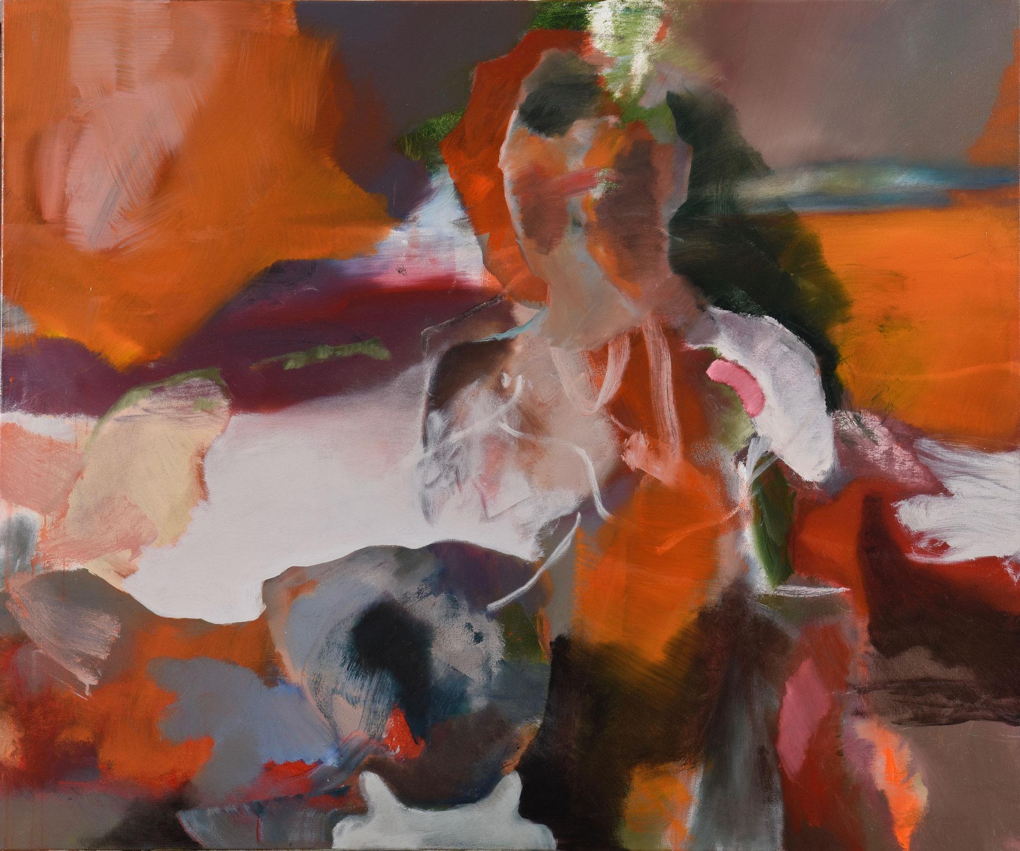 59  |  Ohne Titel  |  2018  |  Öl auf Leinwand  |  100 x 120 cm