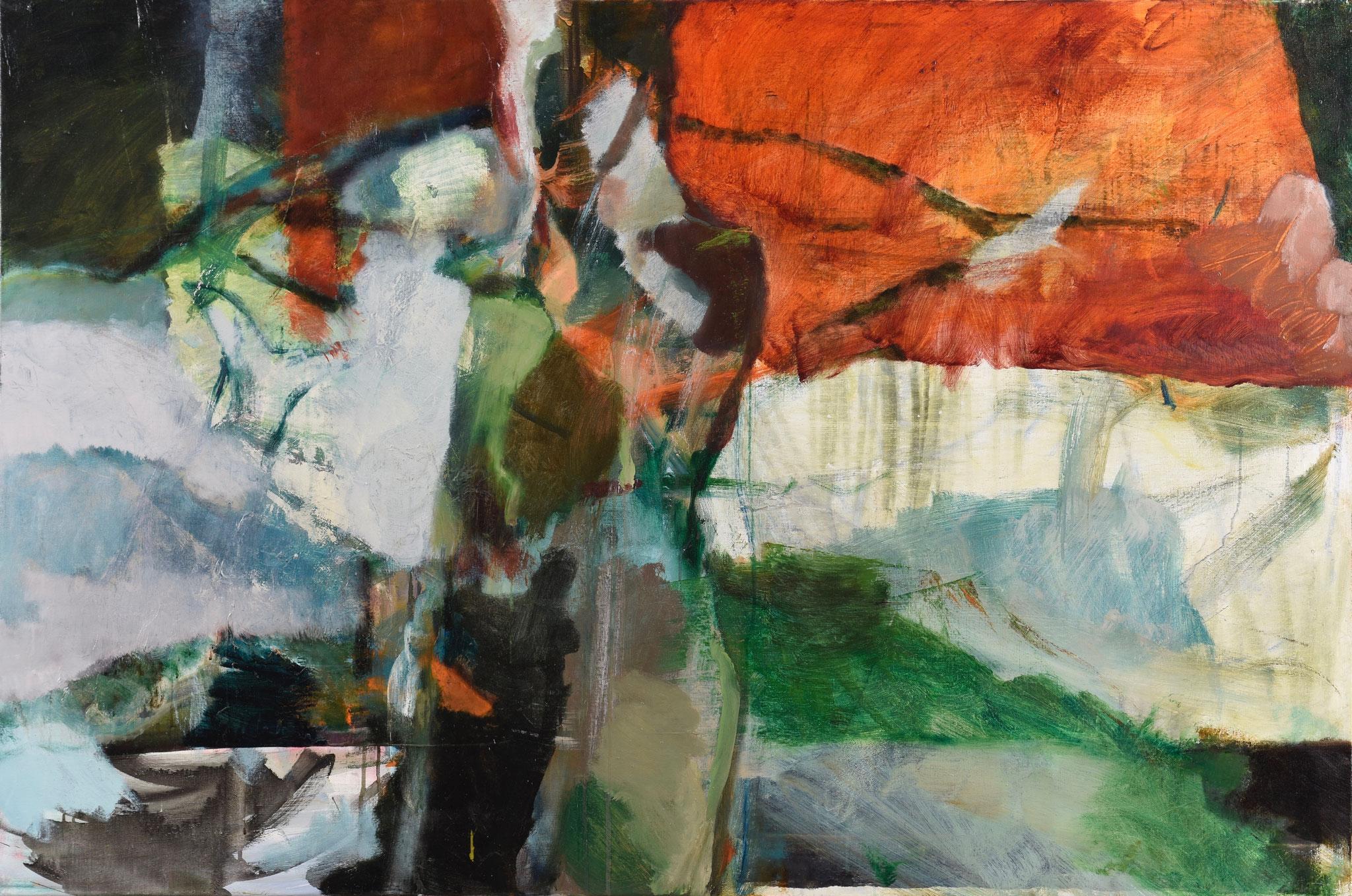 85  |  Ohne Titel  |  2020  |  Öl auf Leinwand  |  100 x 150 cm