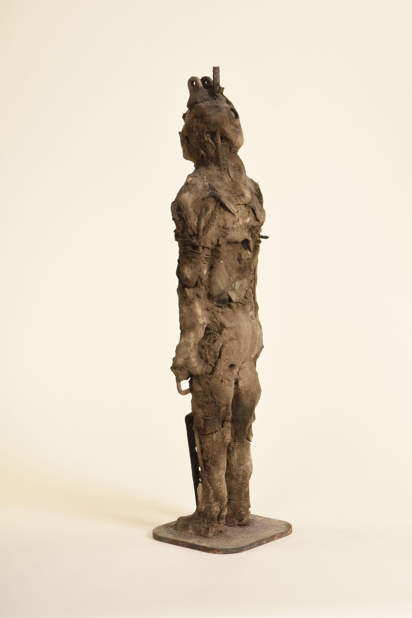 Krieger   2013   Ton, Metall     69cm