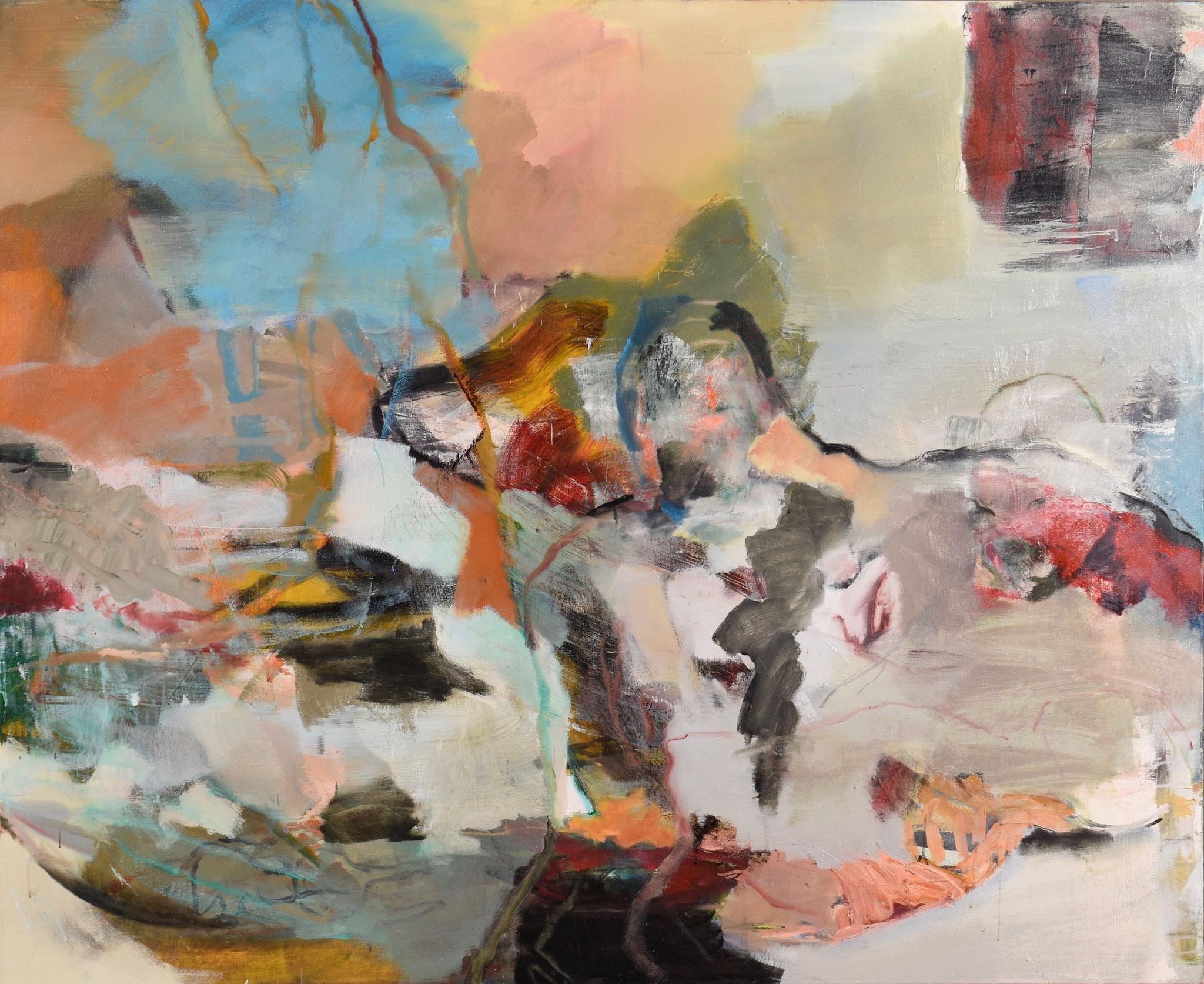 48  |  Ohne Titel  |  2018  |  Öl auf Leinwand  |  160 x 195 cm