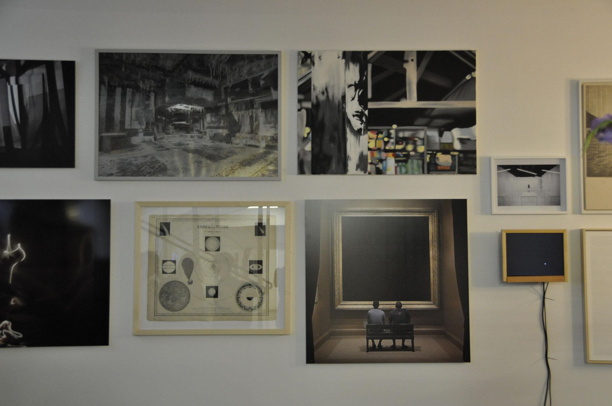 """""""die weisse ab-haus-verkaufs-kunstschau #4"""", das weisse haus, vienna'15, photo by sandra lieners"""