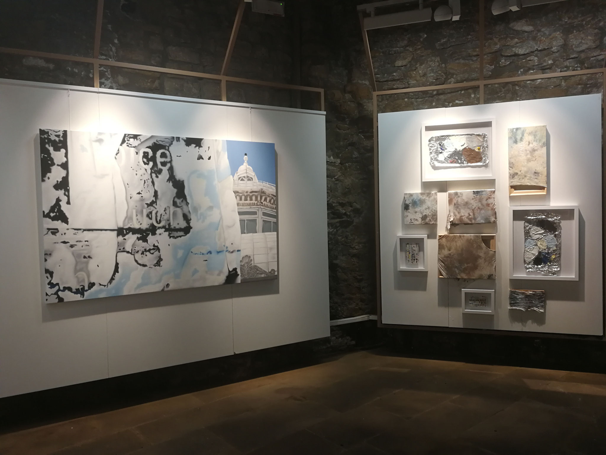 """""""intro peinture 2.0"""" '18, galerie konschthaus beim engel, photo by sandra lieners"""