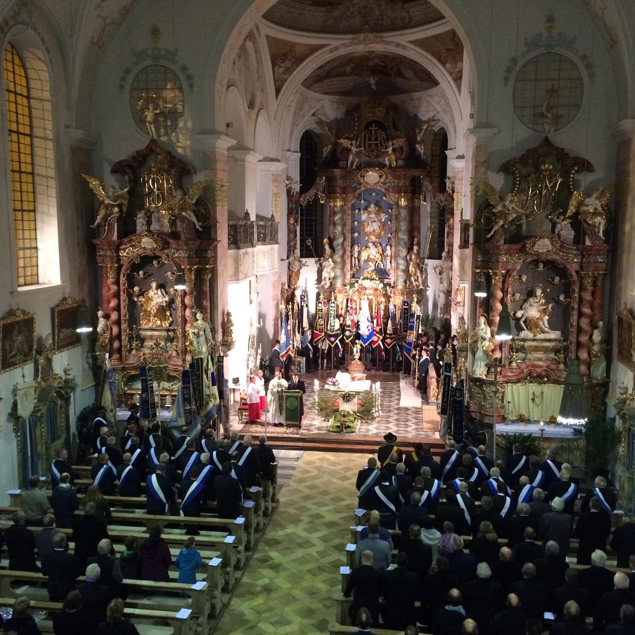 Festgottesdienst beim 150-jährigen Vereinsjubiläum