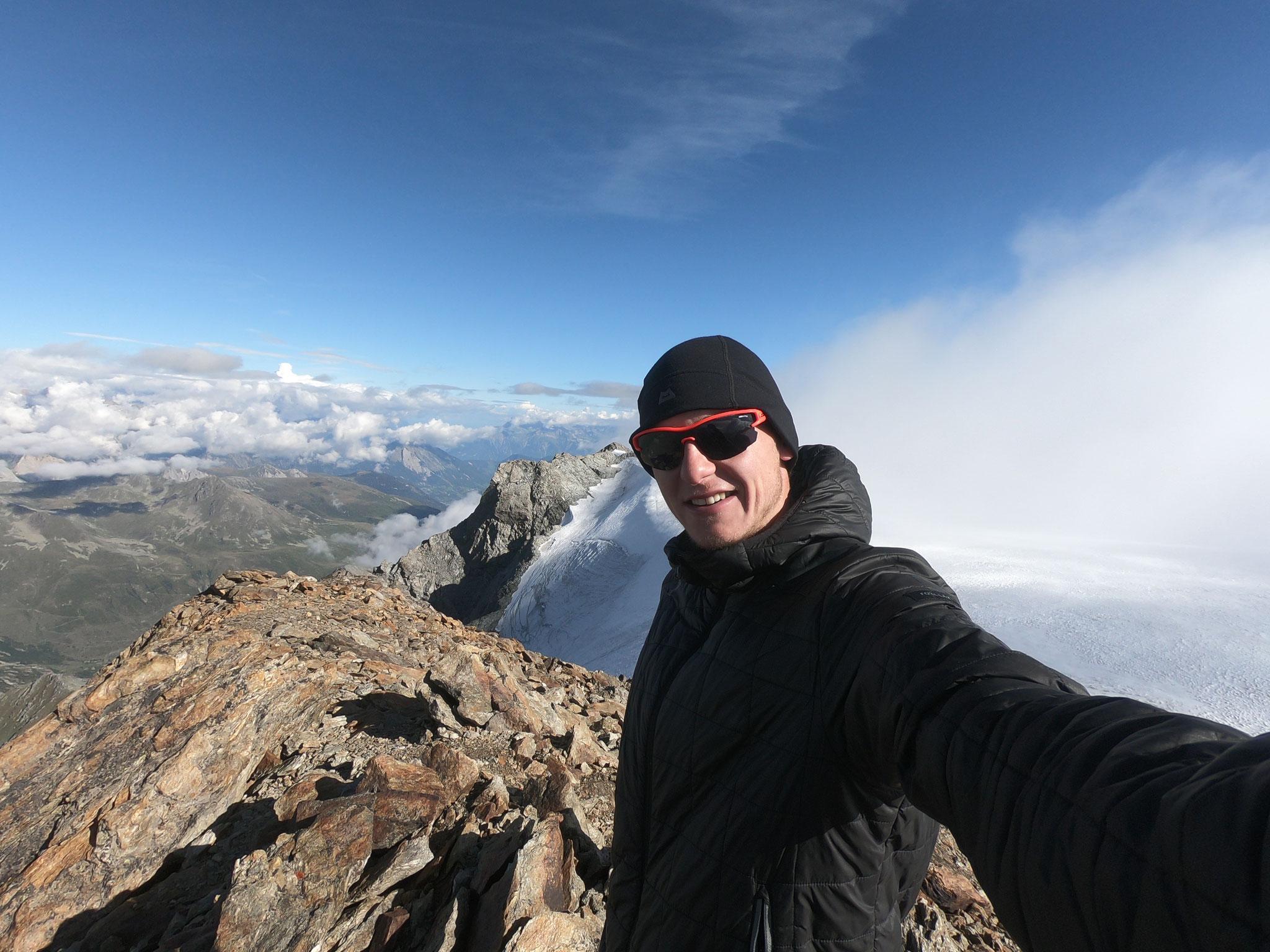 Mont Vélan nach dem Hanibal-Grat