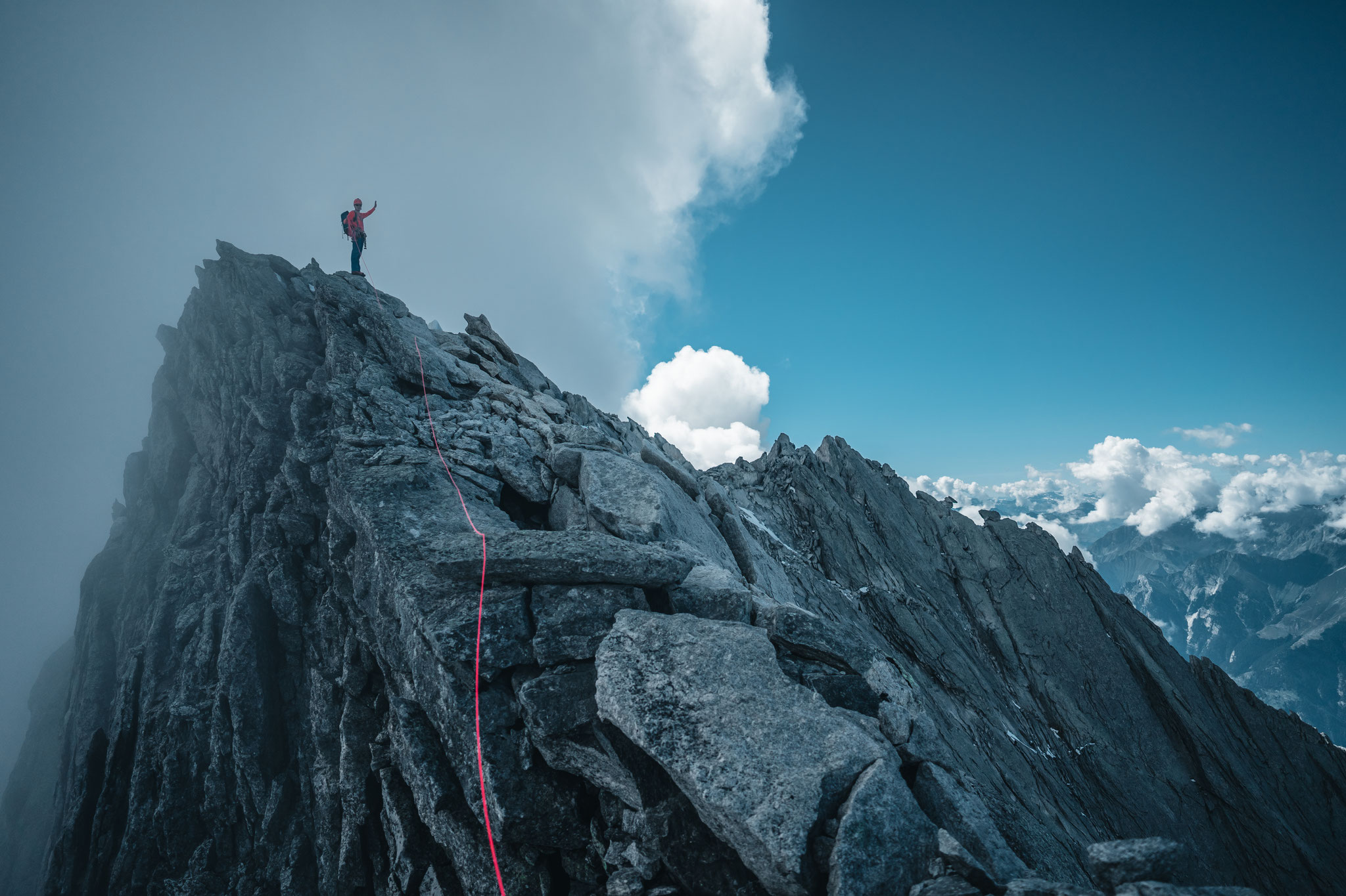 Badile Gipfel