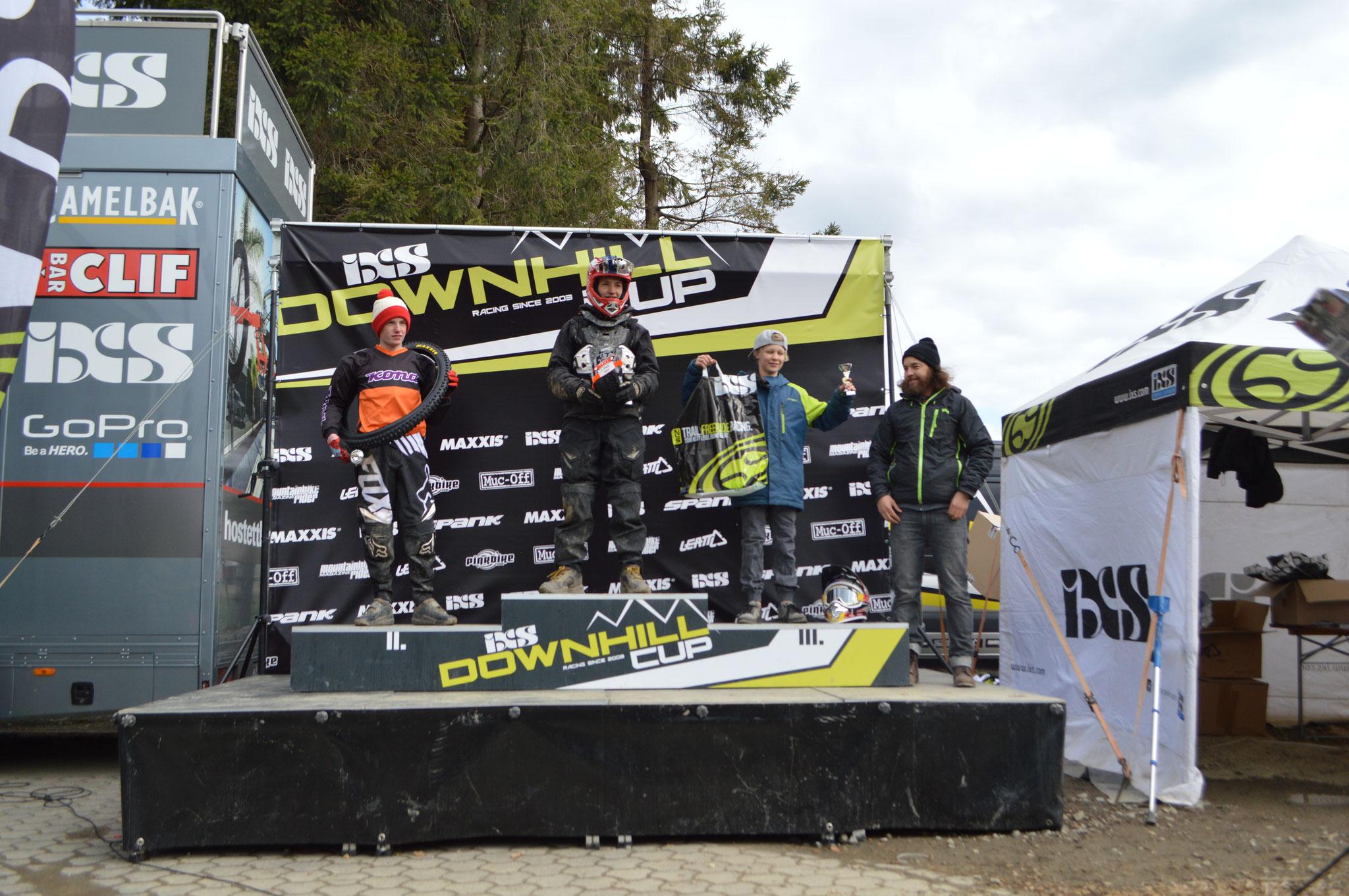 3. Platz Rookie Downhill Cup U15 Winterberg 2016