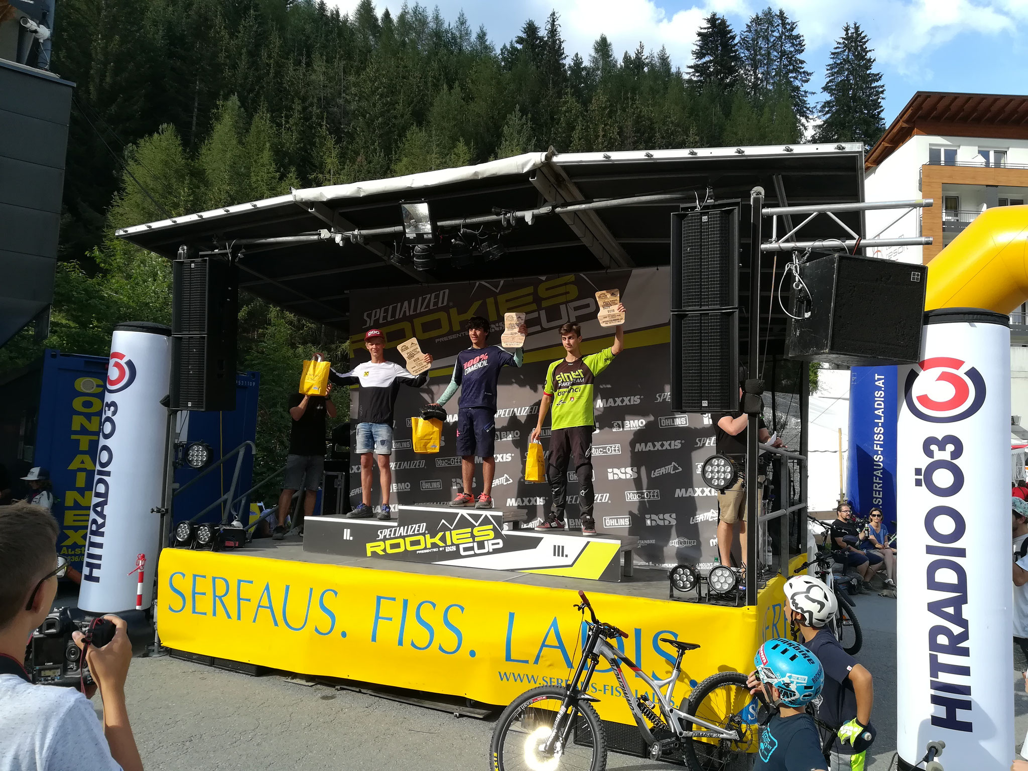 2.Platz Serfaus-Fiss-Ladis Specialized Rookie Downhill Cup U17 2018