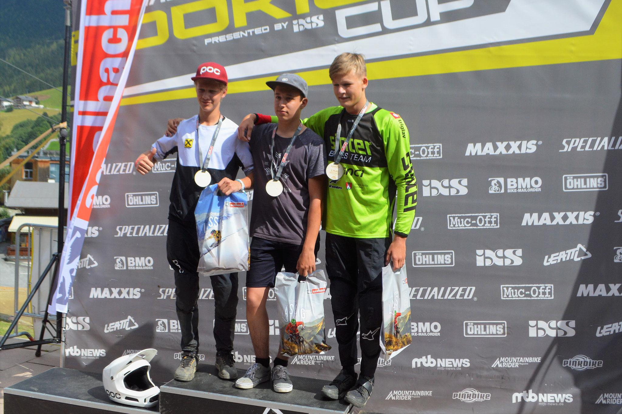 2. Platz Glemmride U17 2018