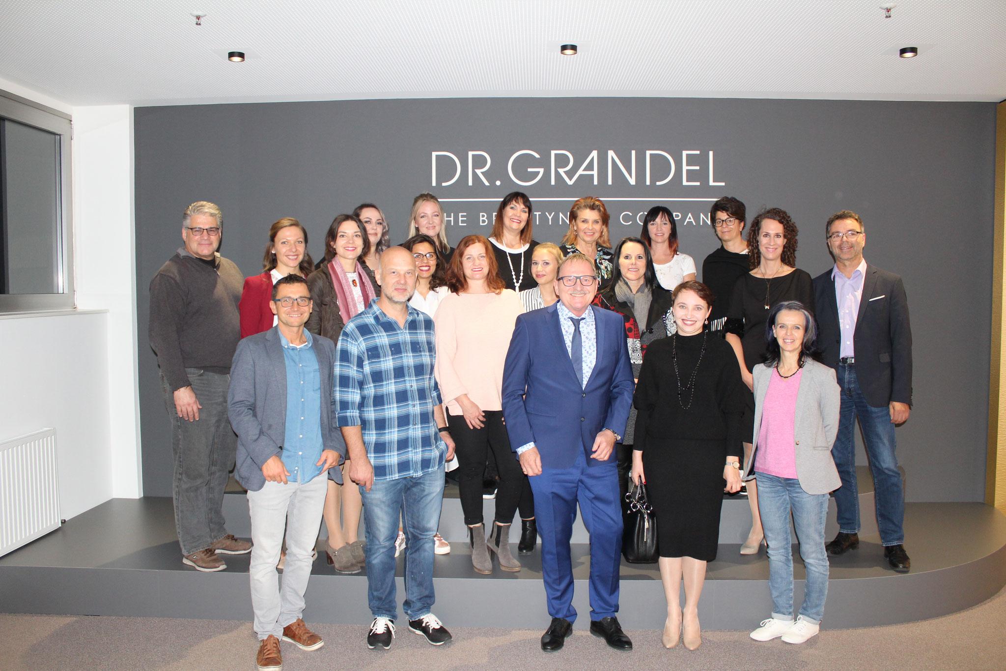 Seminar bei Firma Dr. Grandel 2018