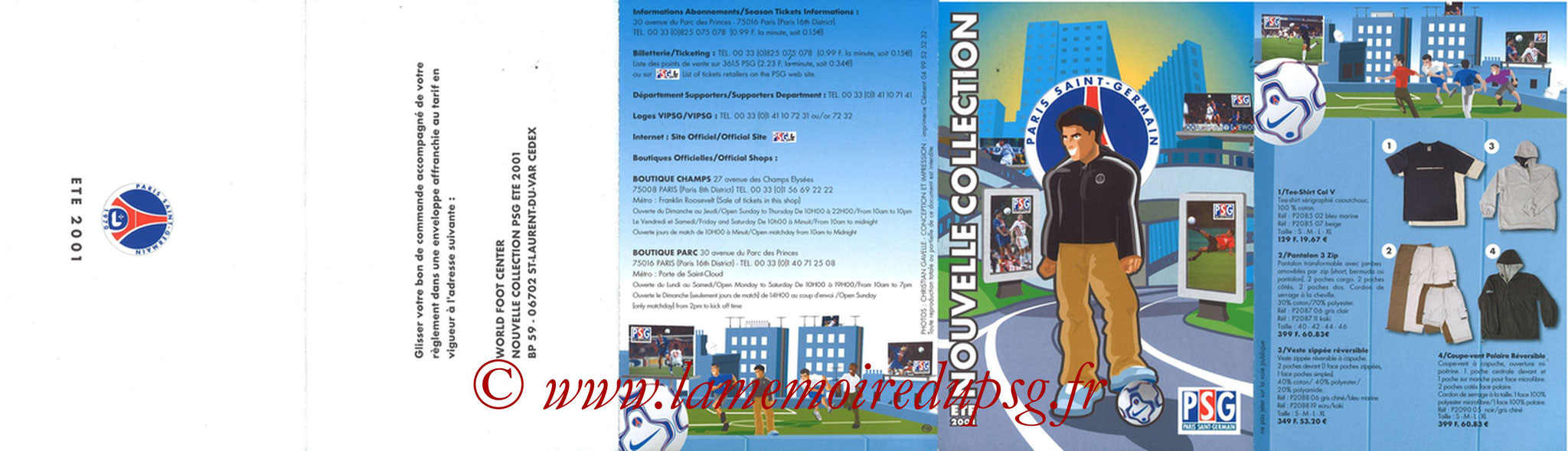 Catalogue PSG - 2001-02b - Recto