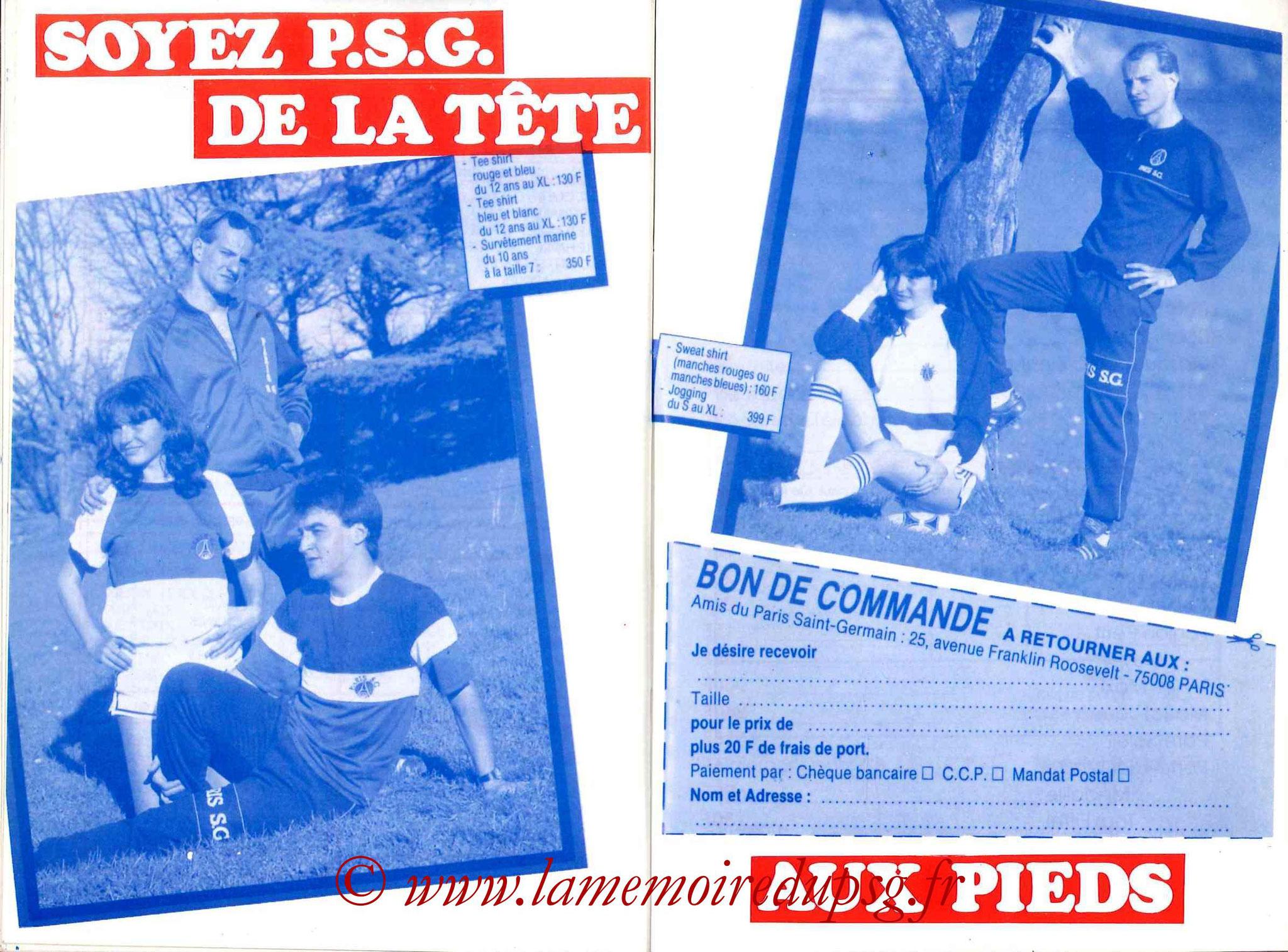 1989-90 - Guide de la Saison PSG - Pages 30 et 31