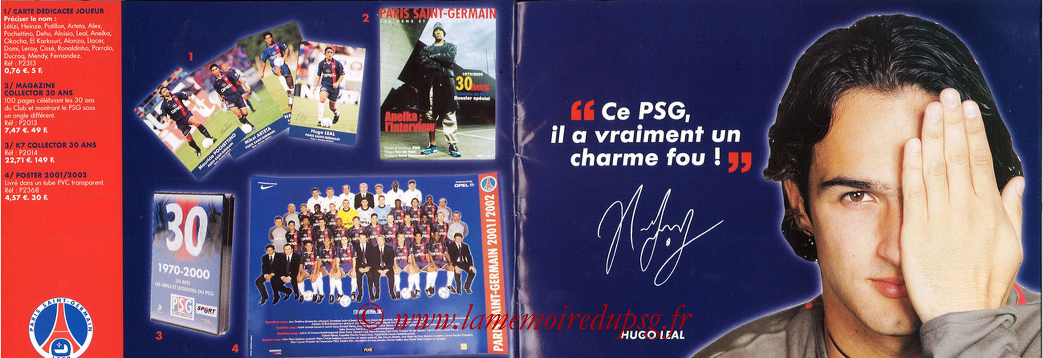 Catalogue PSG - 2001-02 - Noêl - Pages 22 et 23
