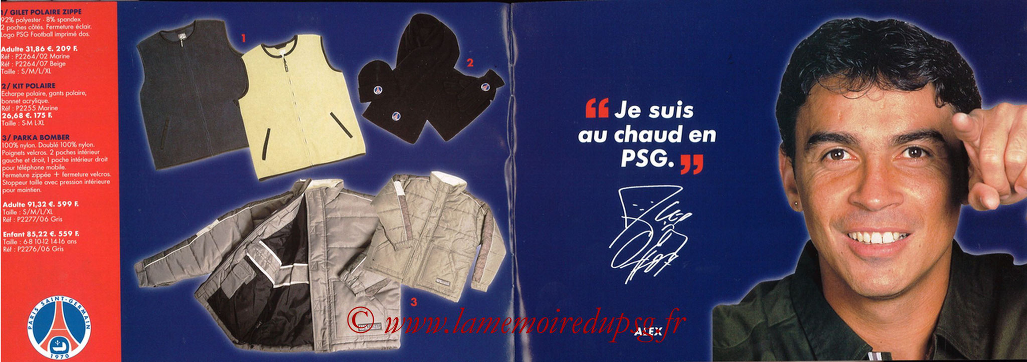 Catalogue PSG - 2001-02 - Noêl - Pages 08 et 09