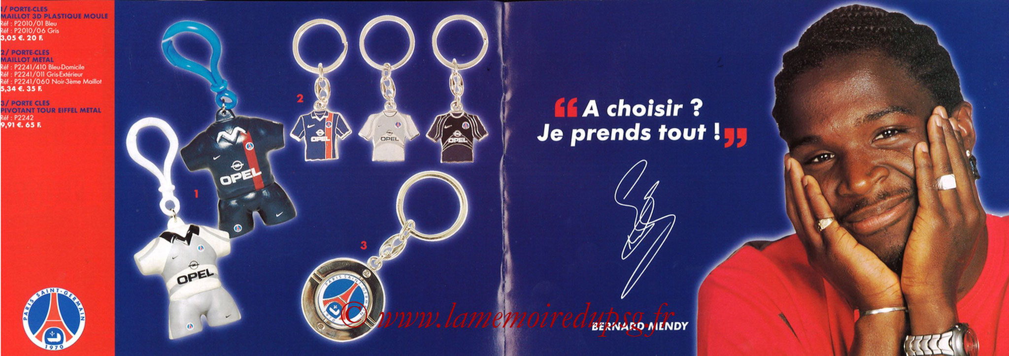 Catalogue PSG - 2001-02 - Noêl - Pages 14 et 15