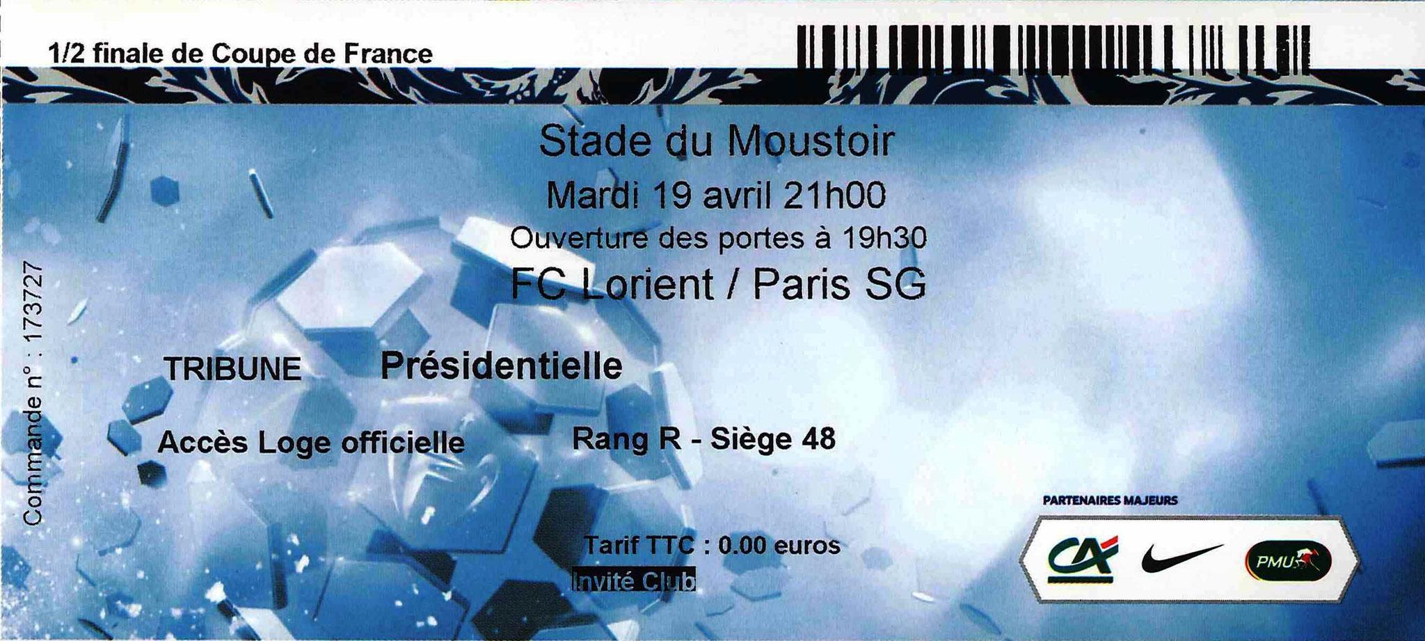 2016-04-19  Lorient-PSG (Demi-finale CF)