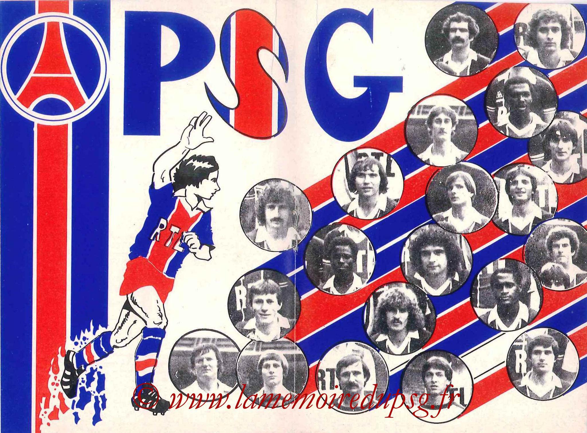 1981-82 - Guide de la Saison PSG - Pages 10 et 11