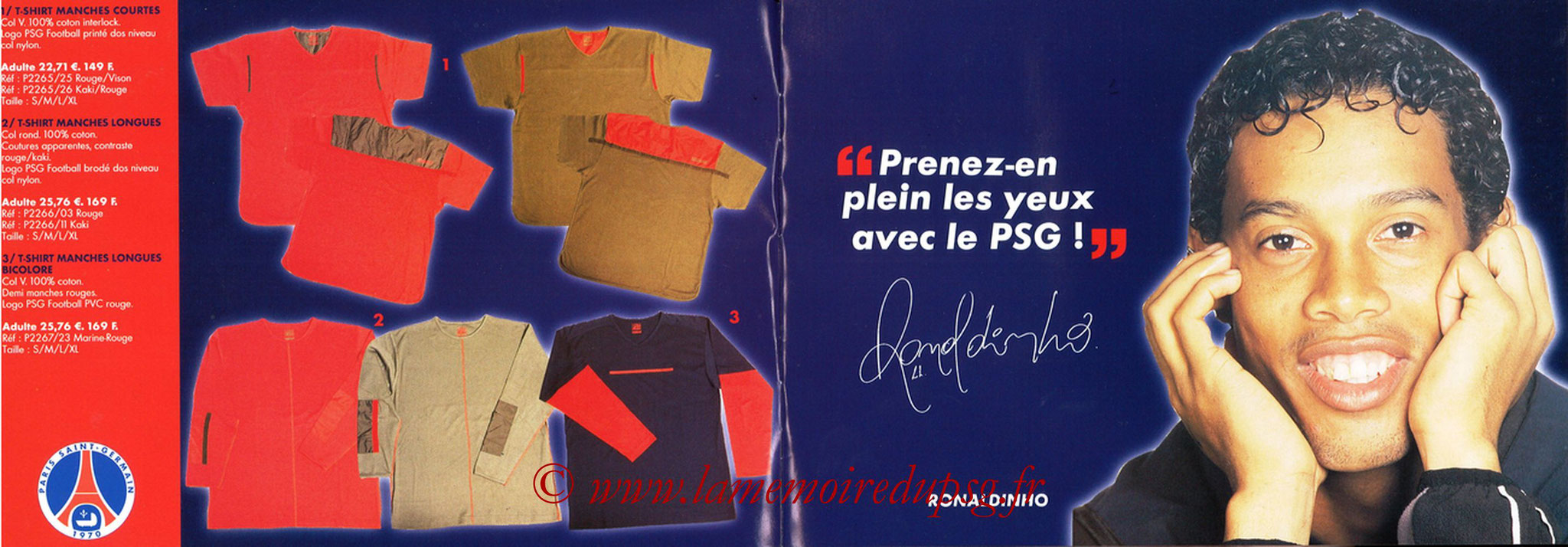 Catalogue PSG - 2001-02 - Noêl - Pages 04 et 05