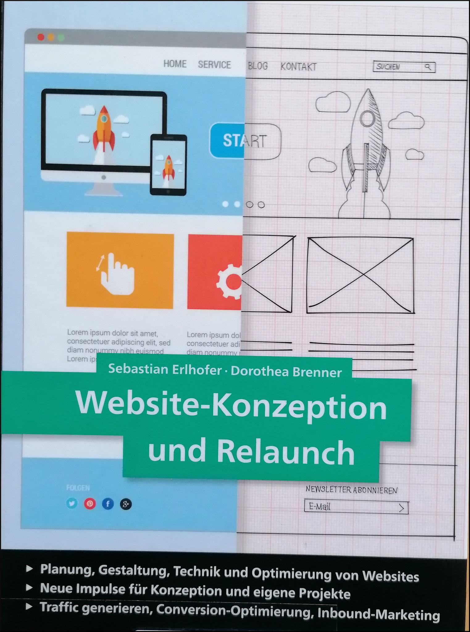 Website-Konzeption und Relaunch - Buchcover