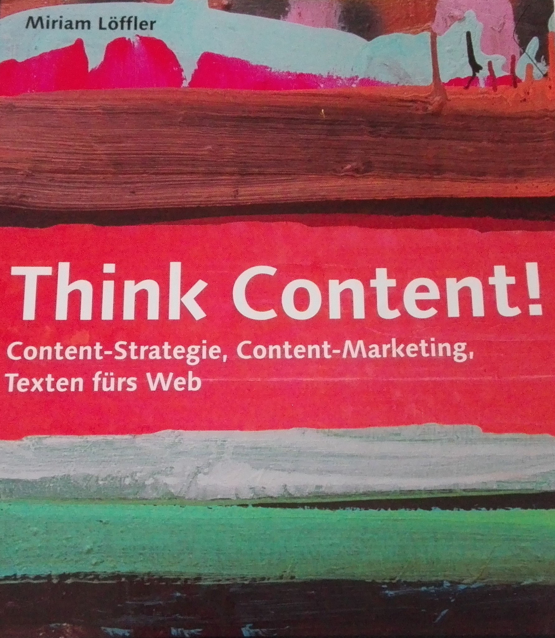 Think Content! - Buchcover