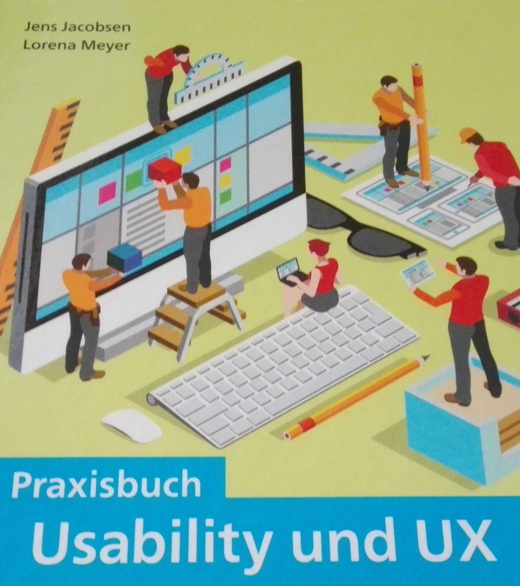 Usability und UX - Buchcover