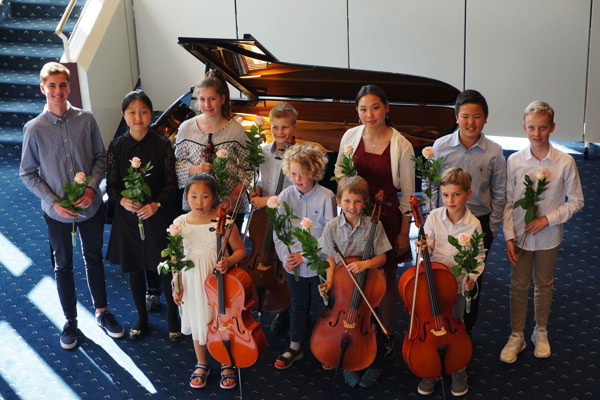 Kinder und Jugendliche musizieren am 26. Mai 2019