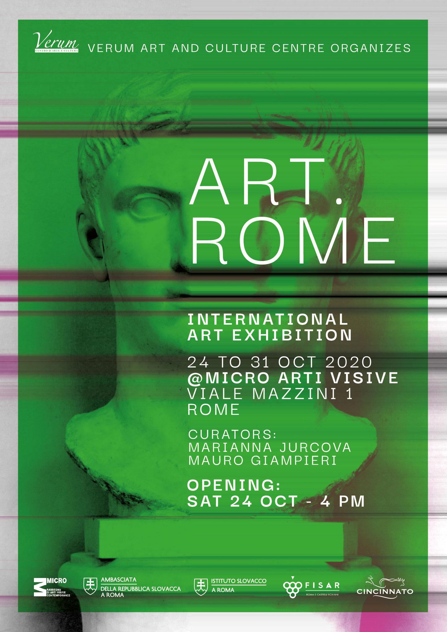 Art Rome - 2020, Rome, Italy