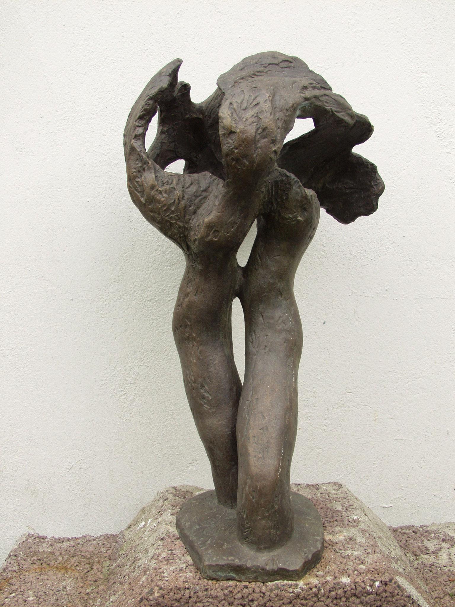 Der Wipfel, Bronze,                          Höhe = 65 cm