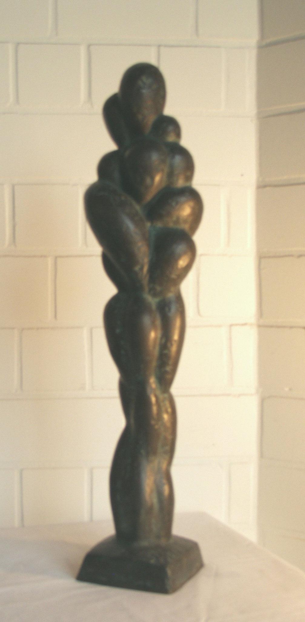 Maternität, Bronze  3 von 6,           Höhe =72 cm
