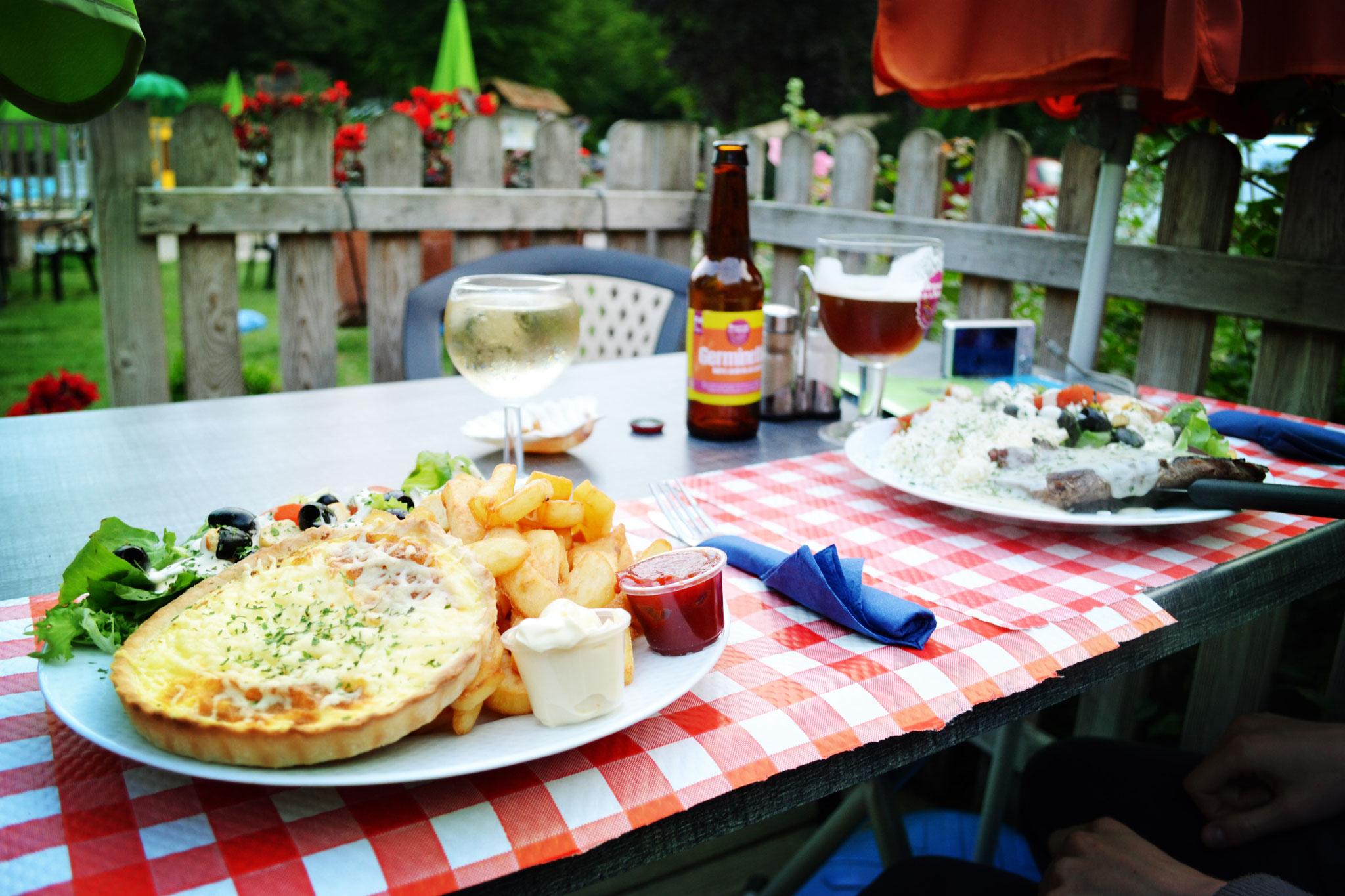 Louer un séjour insolite dans le camping avec brasserie en Baie de Somme
