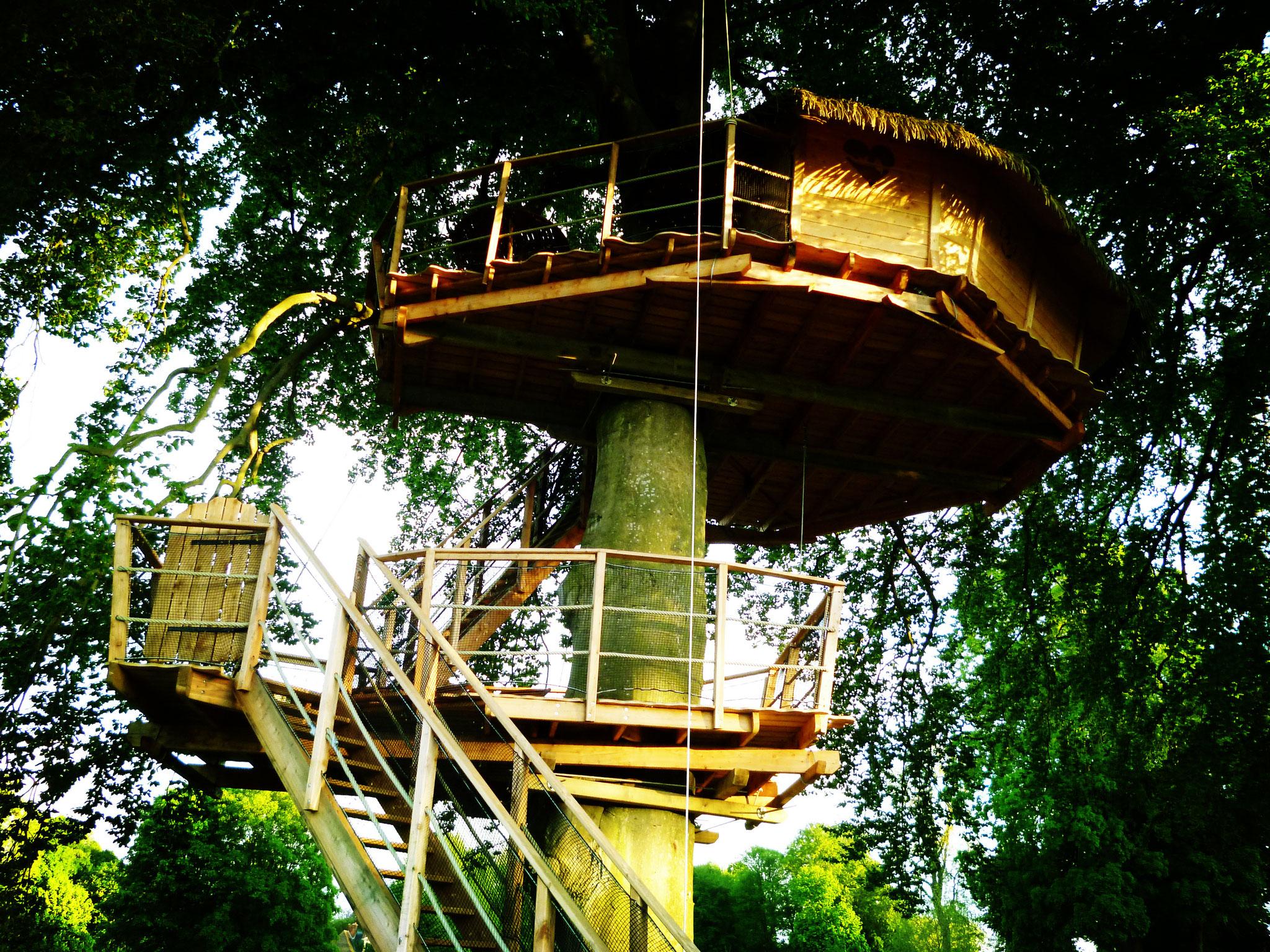 Réserver un séjour insolite dans la cabane en Baie de Somme