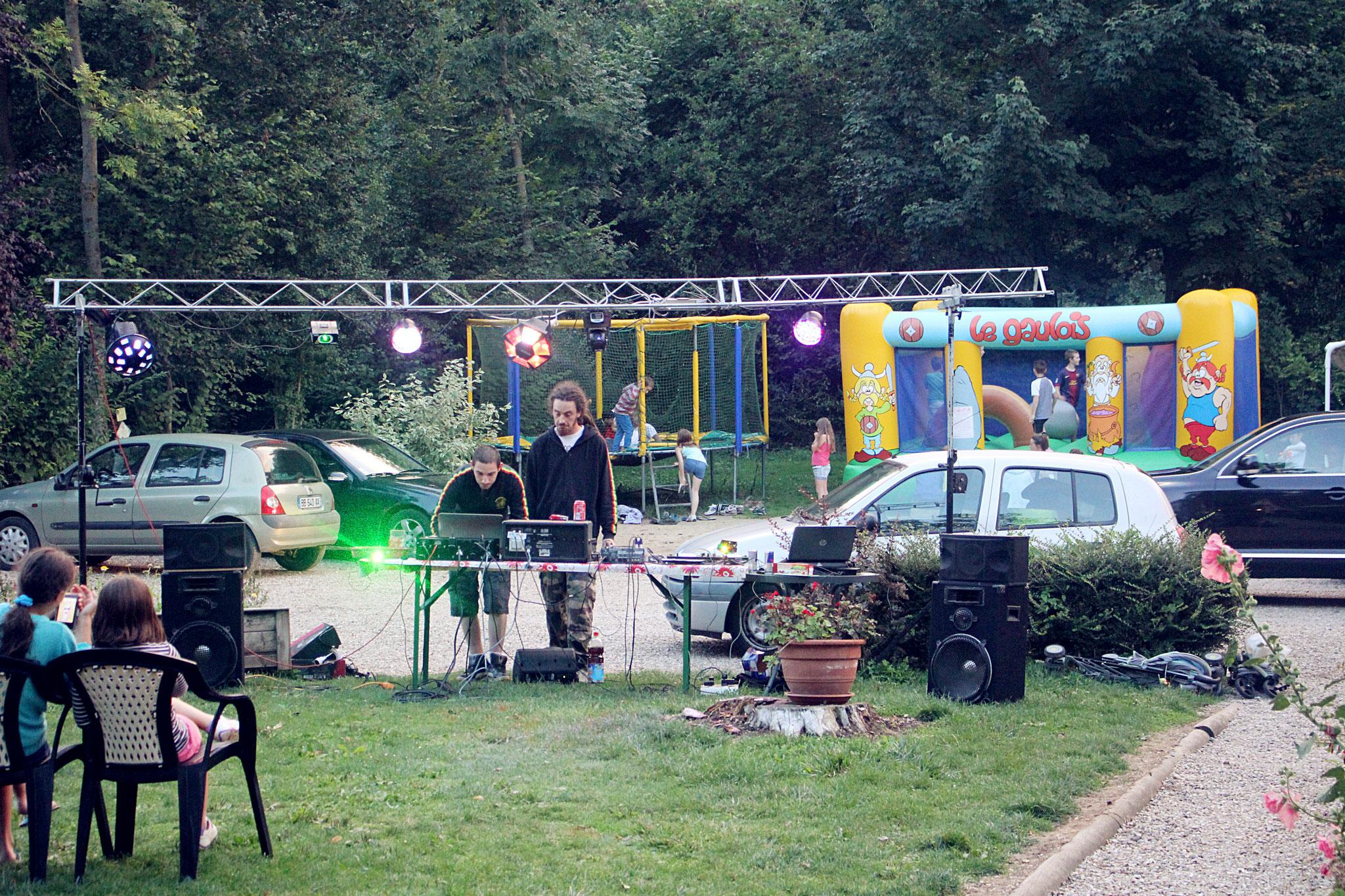 Concert dans le camping avec bar et brasserie en Baie de Somme