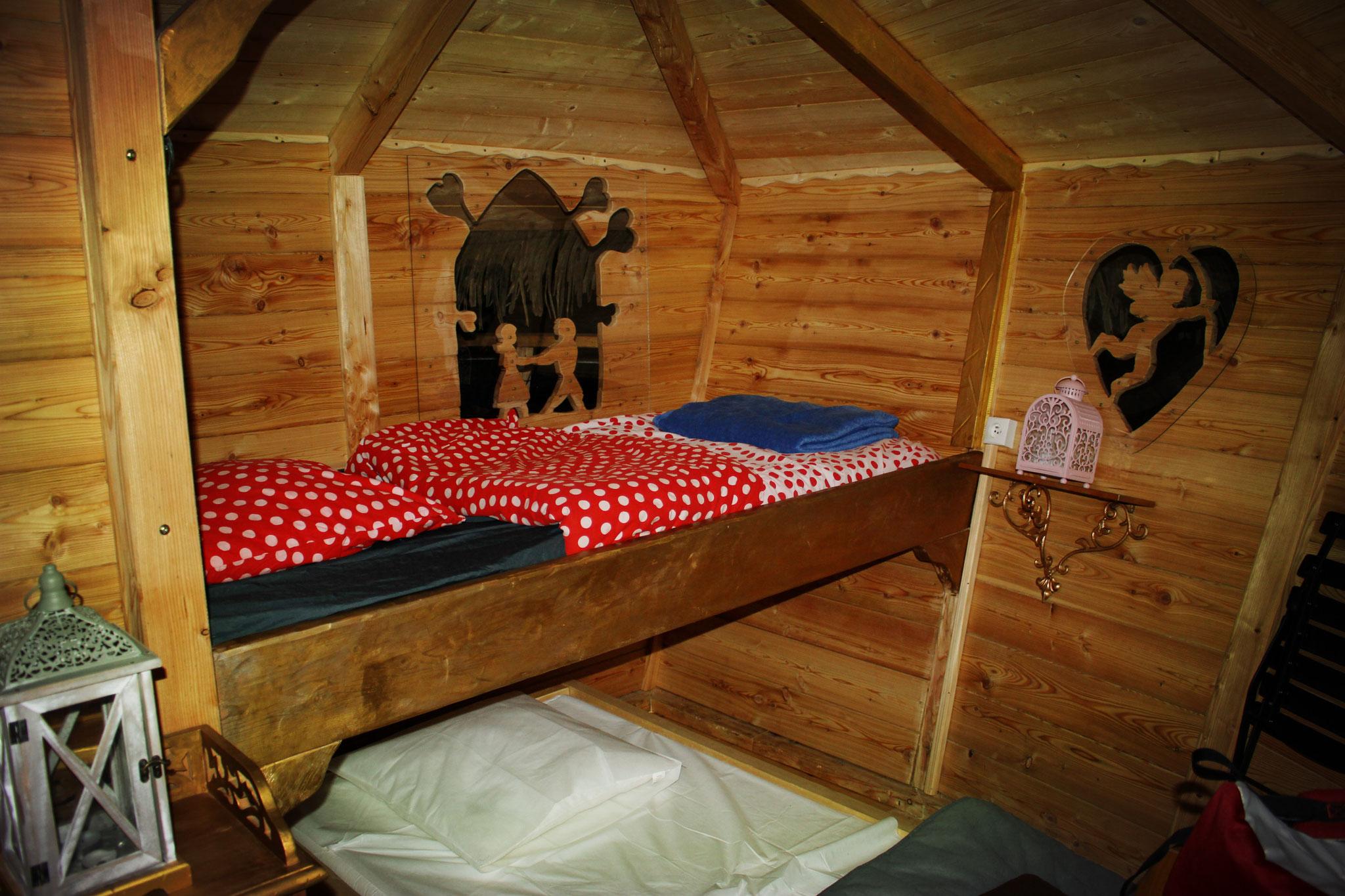 Cabane familiale pour 4 personnes avec sauna en Baie de Somme