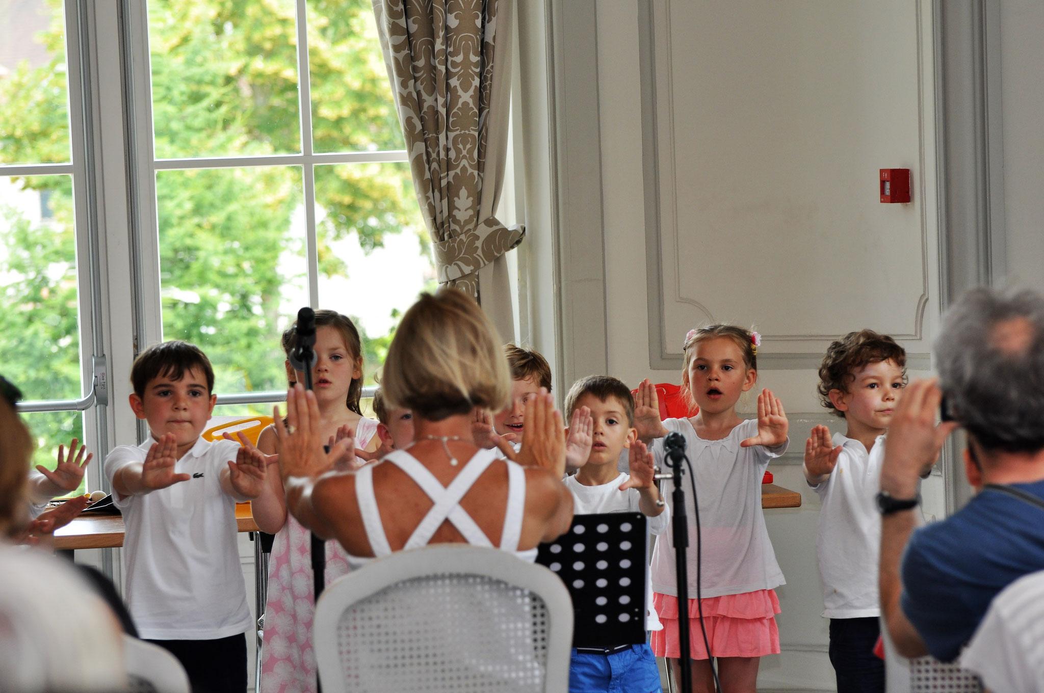 Concerts des ateliers au château...