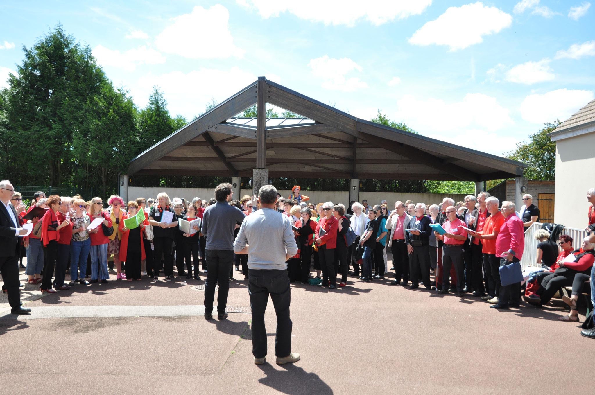 Festival des chorales 2017 à Prunay