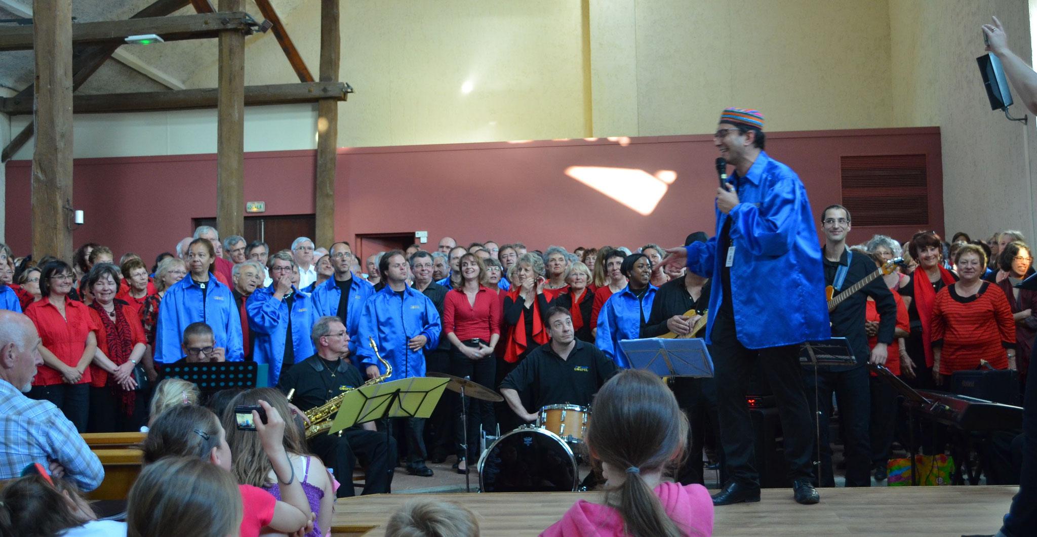 Chants communs organisés par Saint Quentin Gorpel
