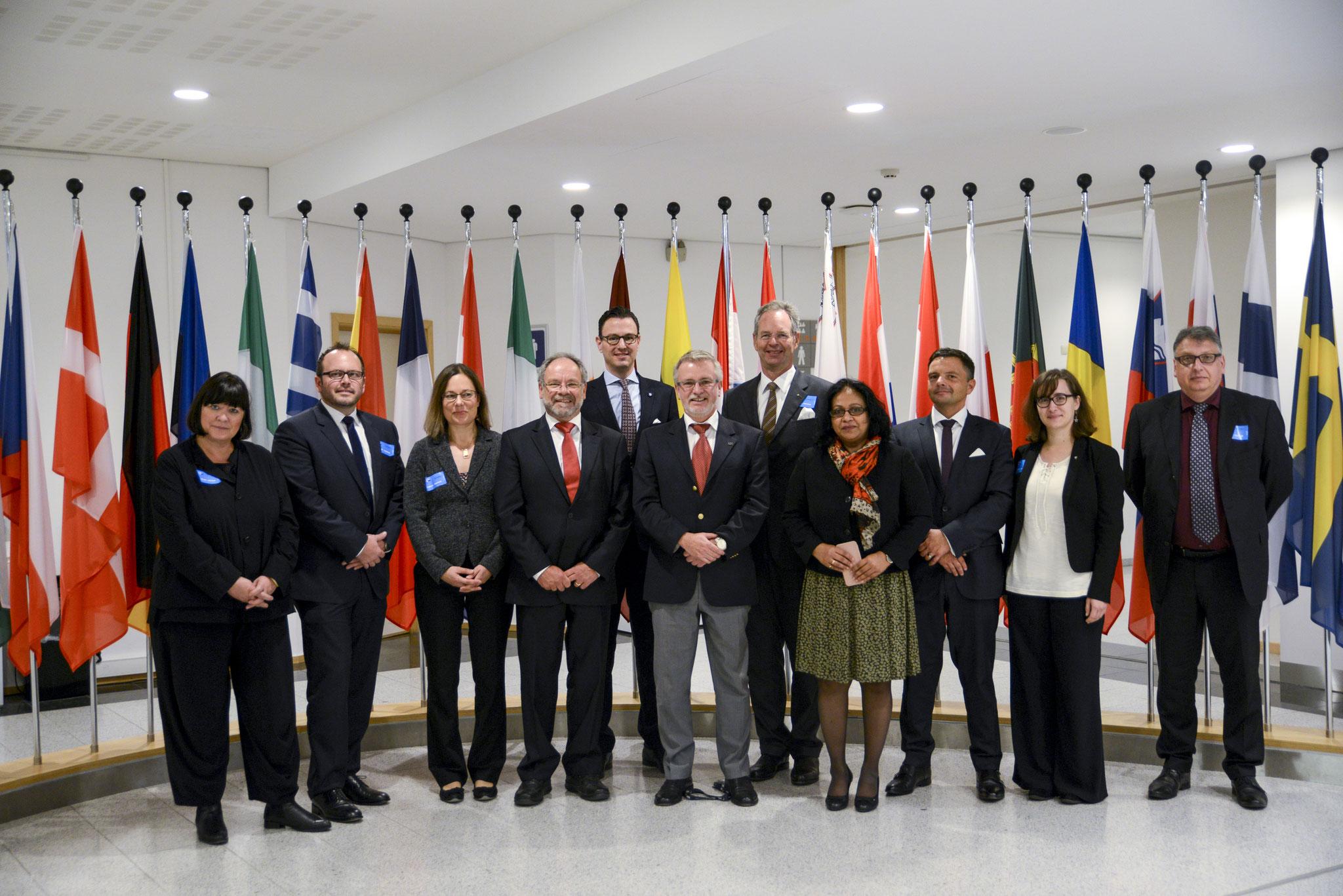 Besuch einer Gruppe des Wirtschaftsrats am 19. Oktober 2017.