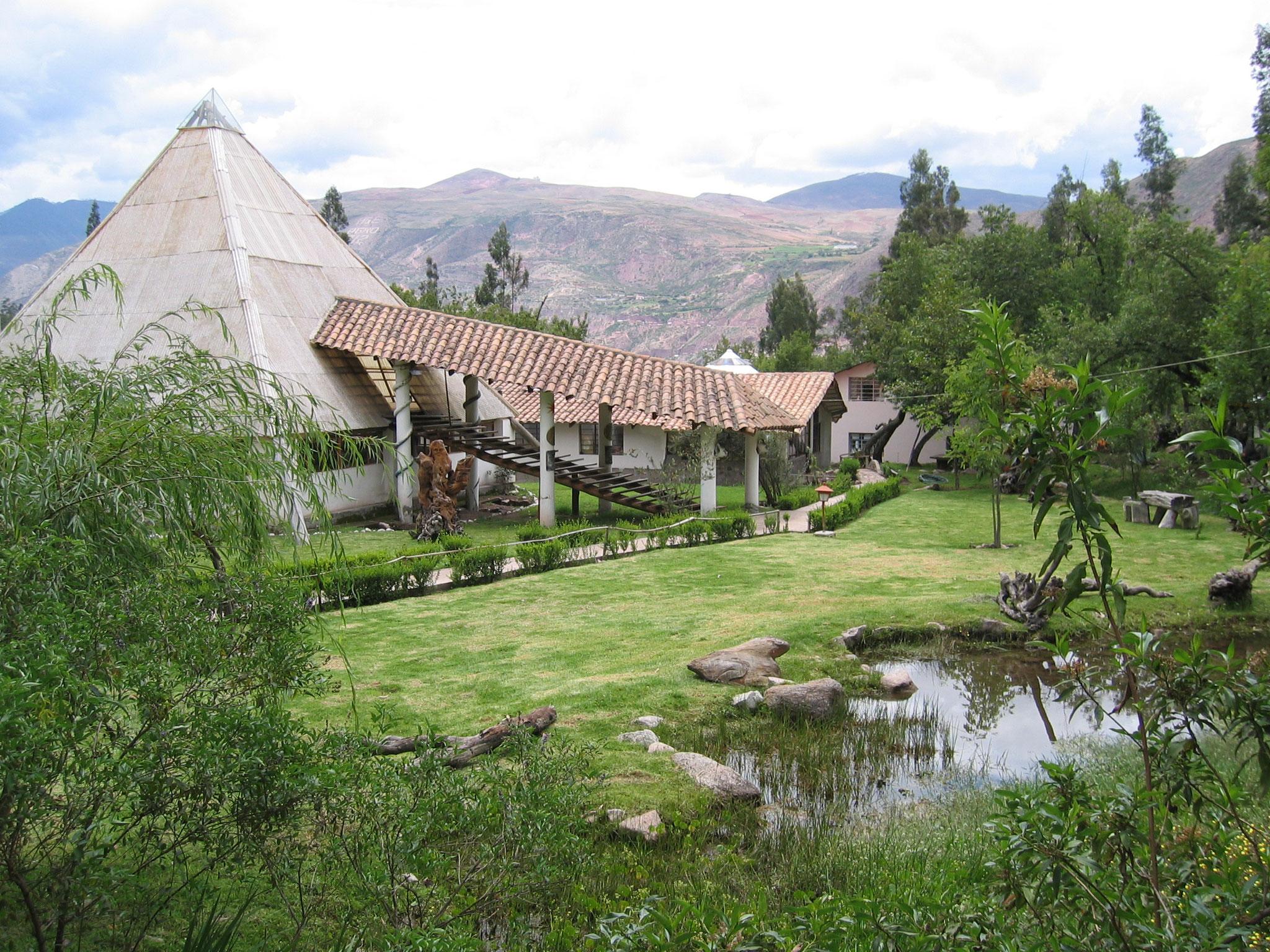Peru, Urubamba, Meditationstempel