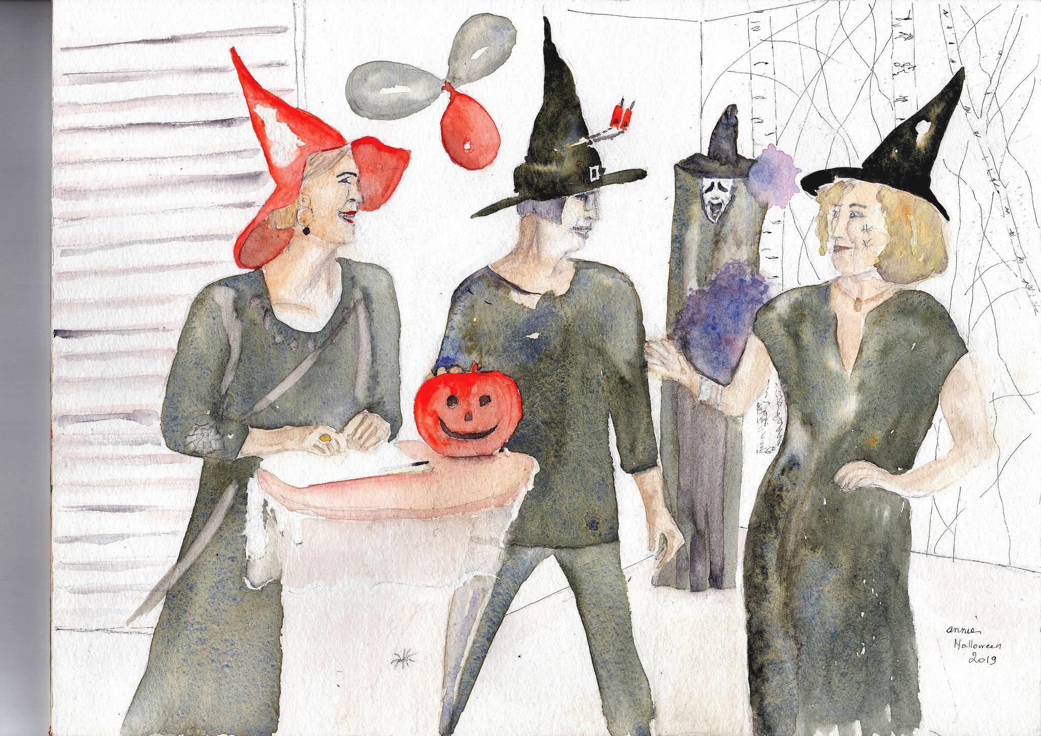 Halloween au centre social Reynerie