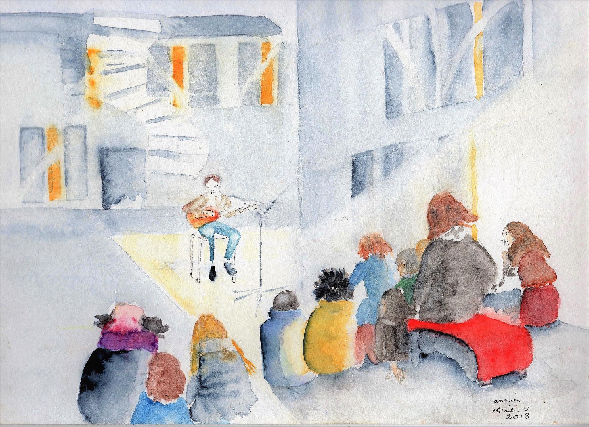 Concert sous la canopée à l'Université du Mirail